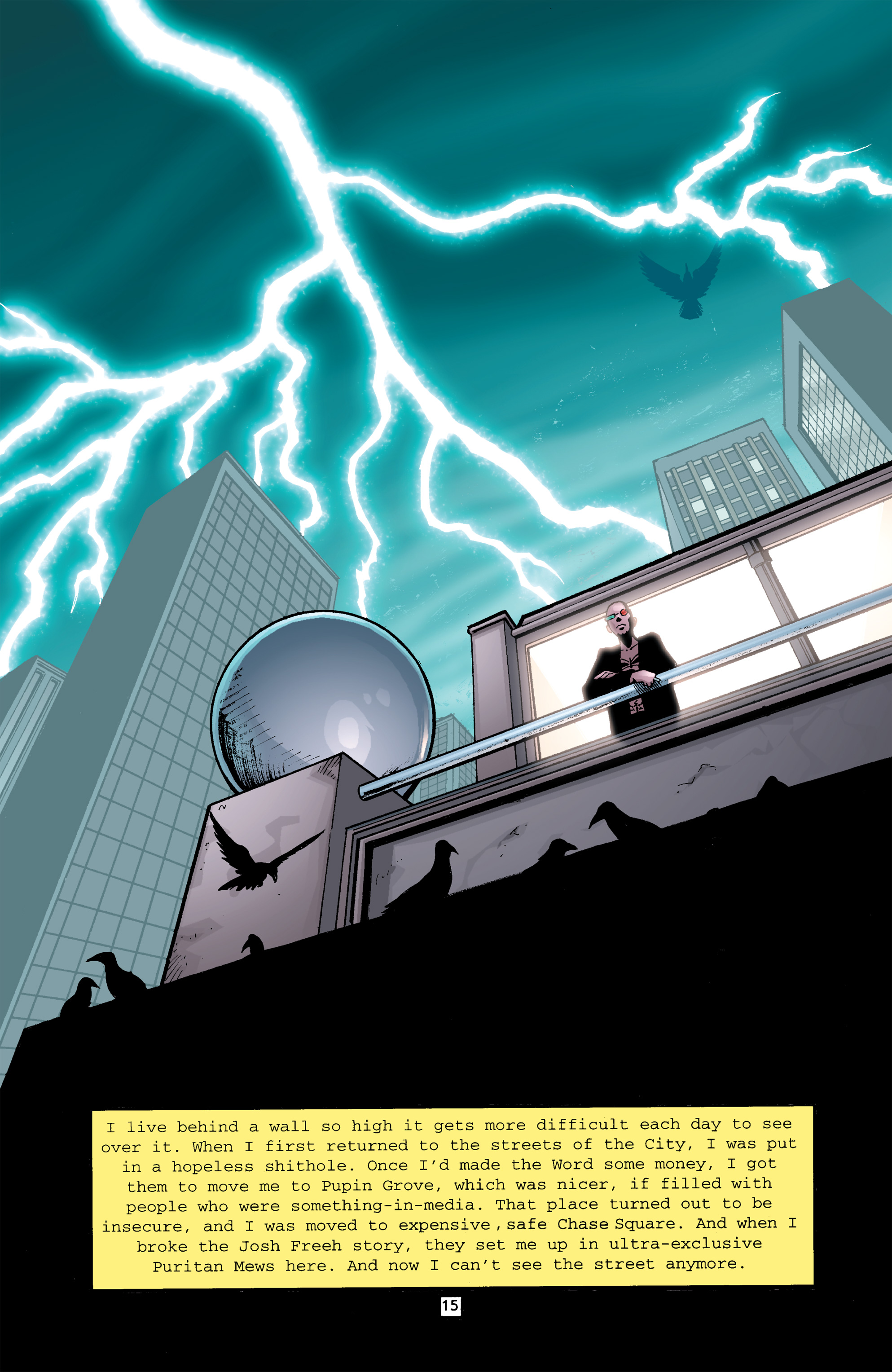 Read online Transmetropolitan comic -  Issue #26 - 16