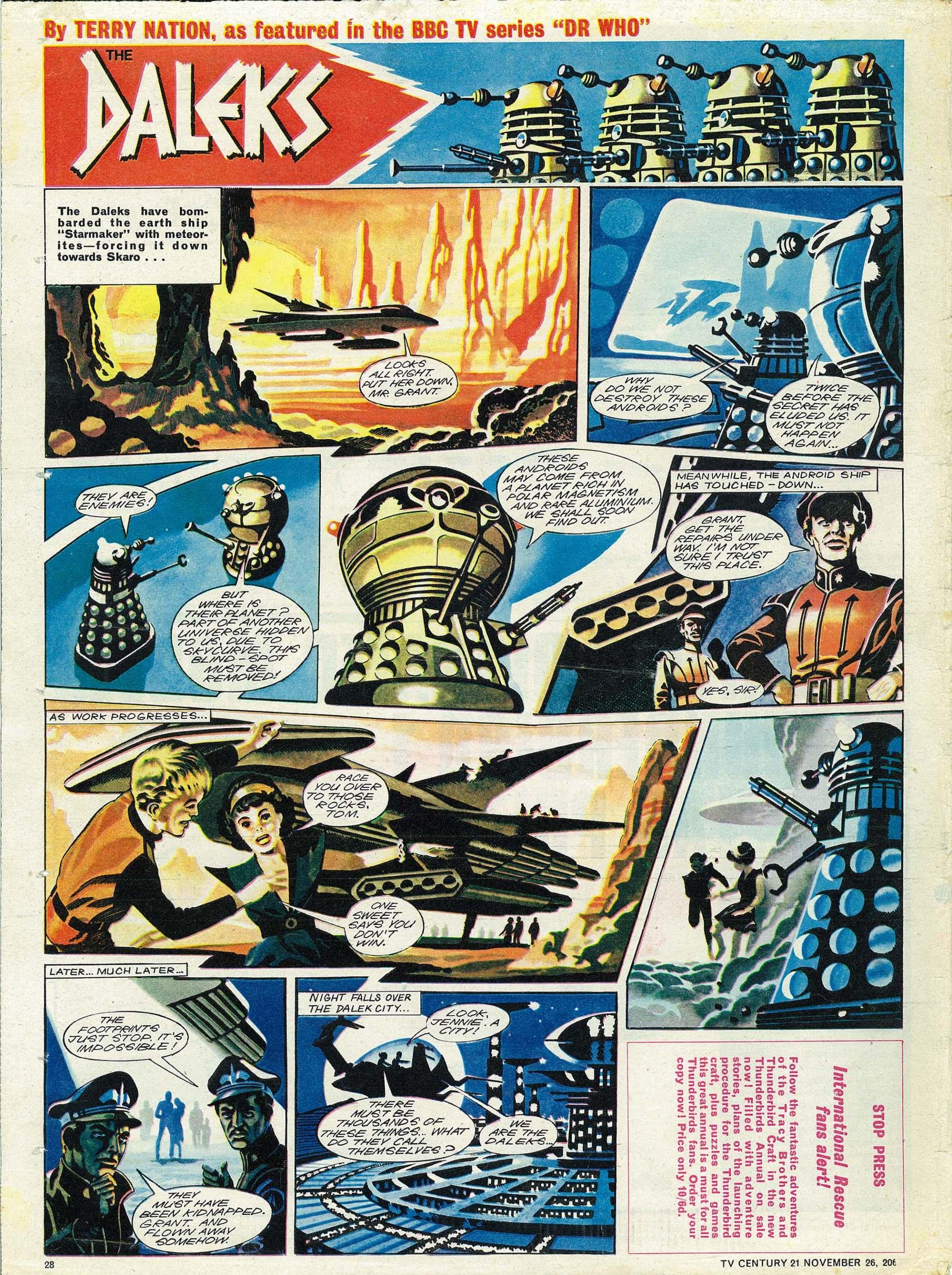 Read online TV Century 21 (TV 21) comic -  Issue #97 - 27