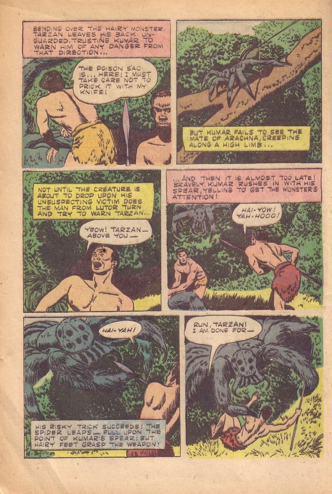 Tarzan (1948) issue 50 - Page 12
