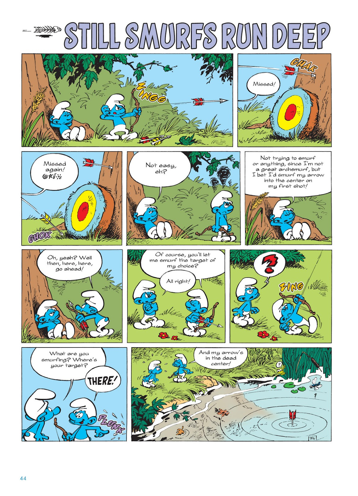 Read online The Smurfs comic -  Issue #11 - 44