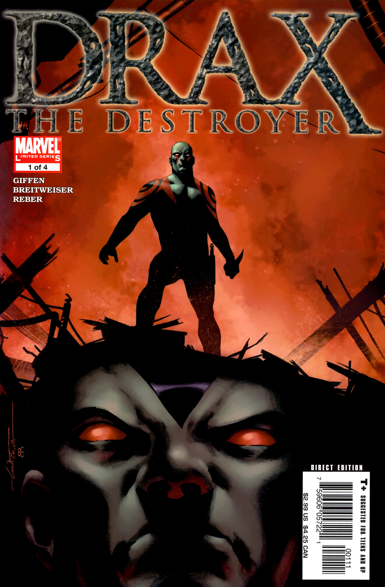 Read online Drax the Destroyer comic - Issue #1