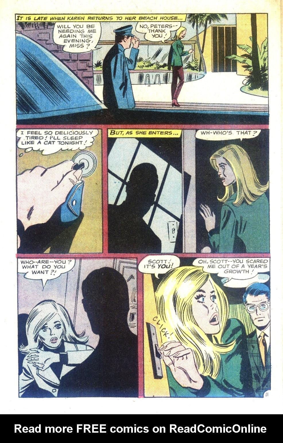 Read online Secret Hearts comic -  Issue #128 - 28