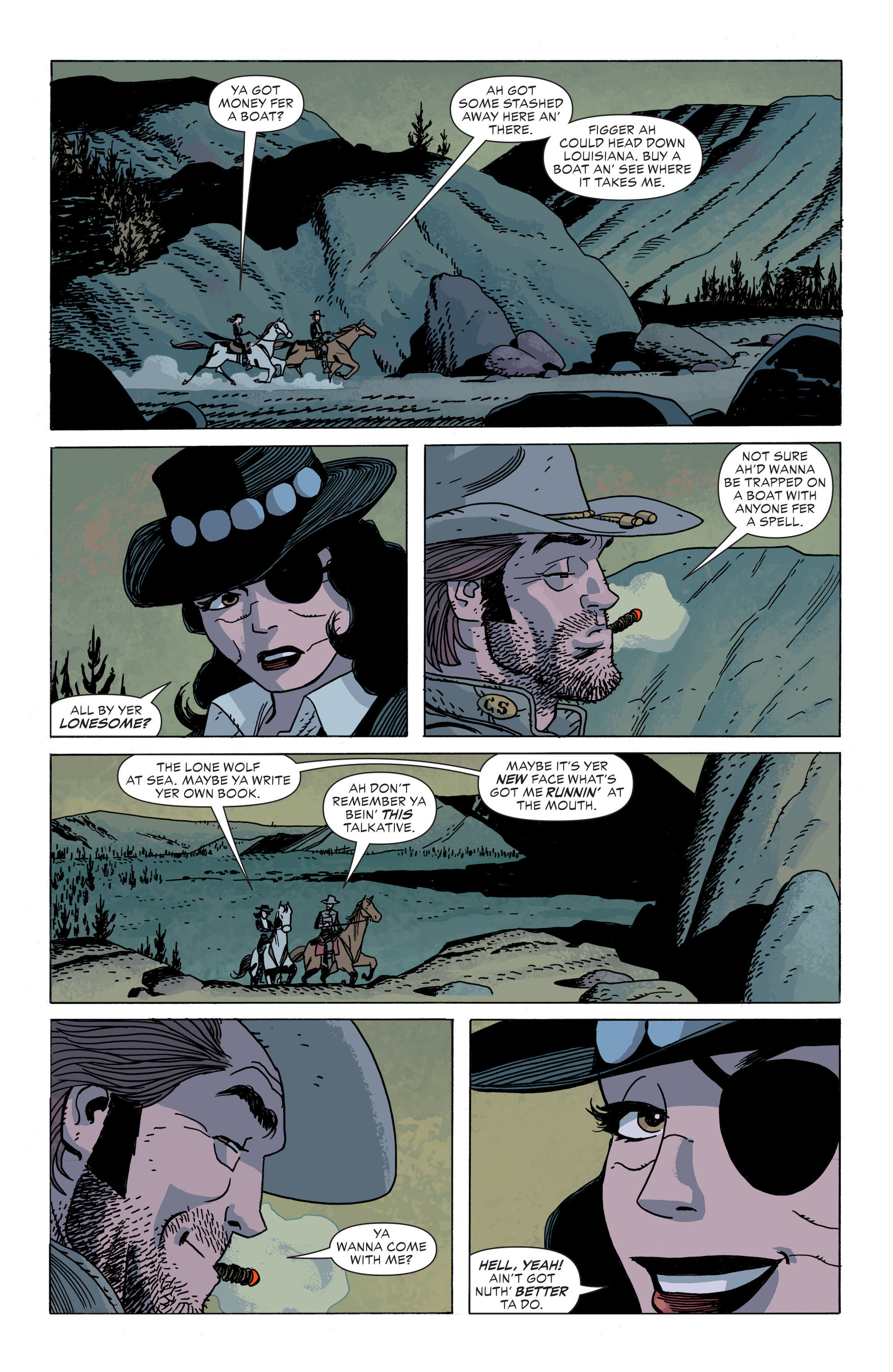Read online All-Star Western (2011) comic -  Issue #34 - 21
