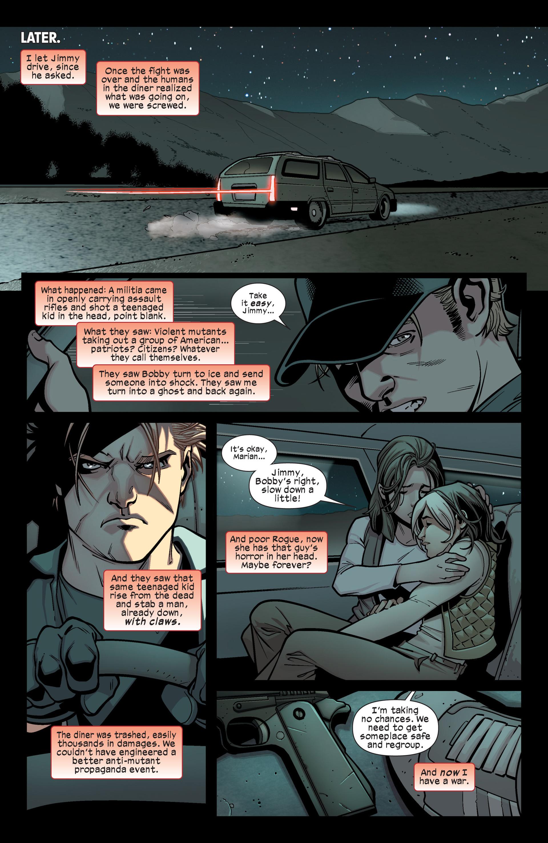 Read online Ultimate Comics X-Men comic -  Issue #15 - 12
