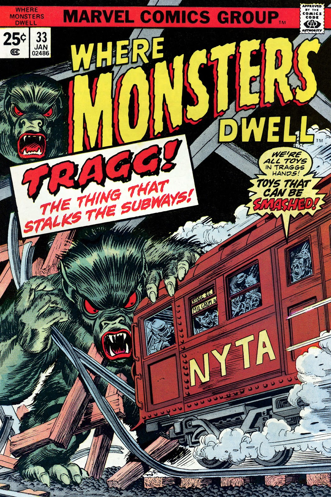 Where Monsters Dwell (1970) issue 33 - Page 1