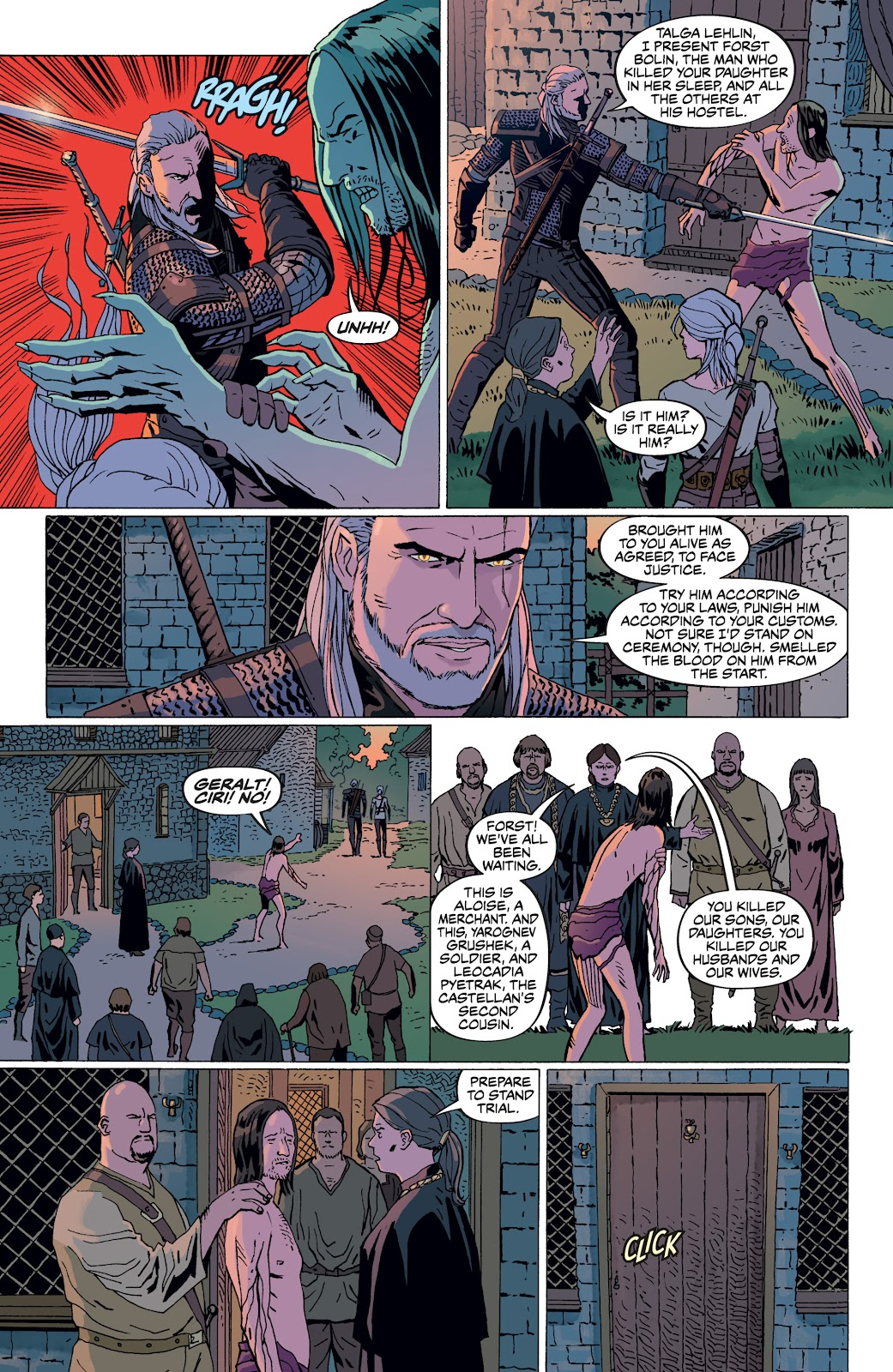 Read online The Witcher Omnibus comic -  Issue # TPB (Part 4) - 19