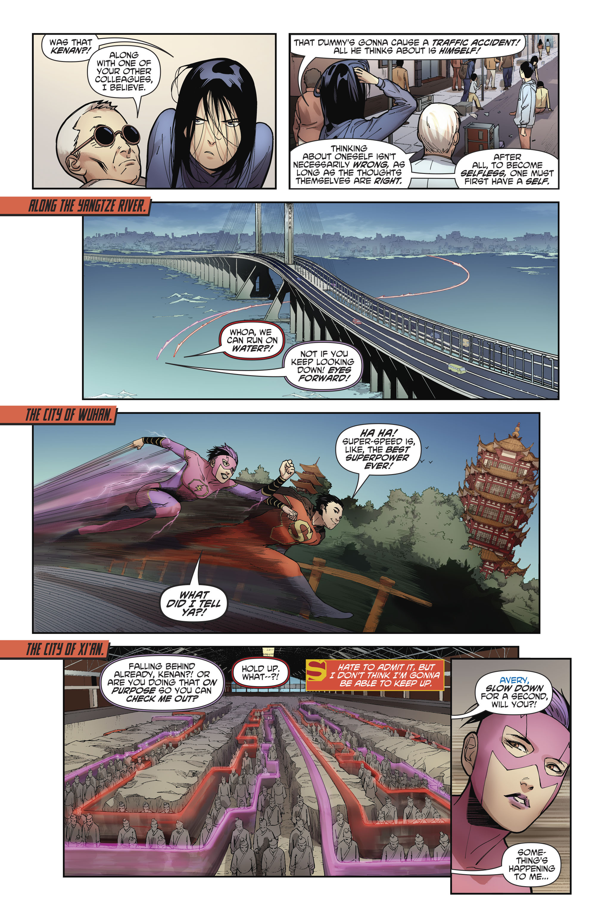 Read online New Super-Man comic -  Issue #11 - 11