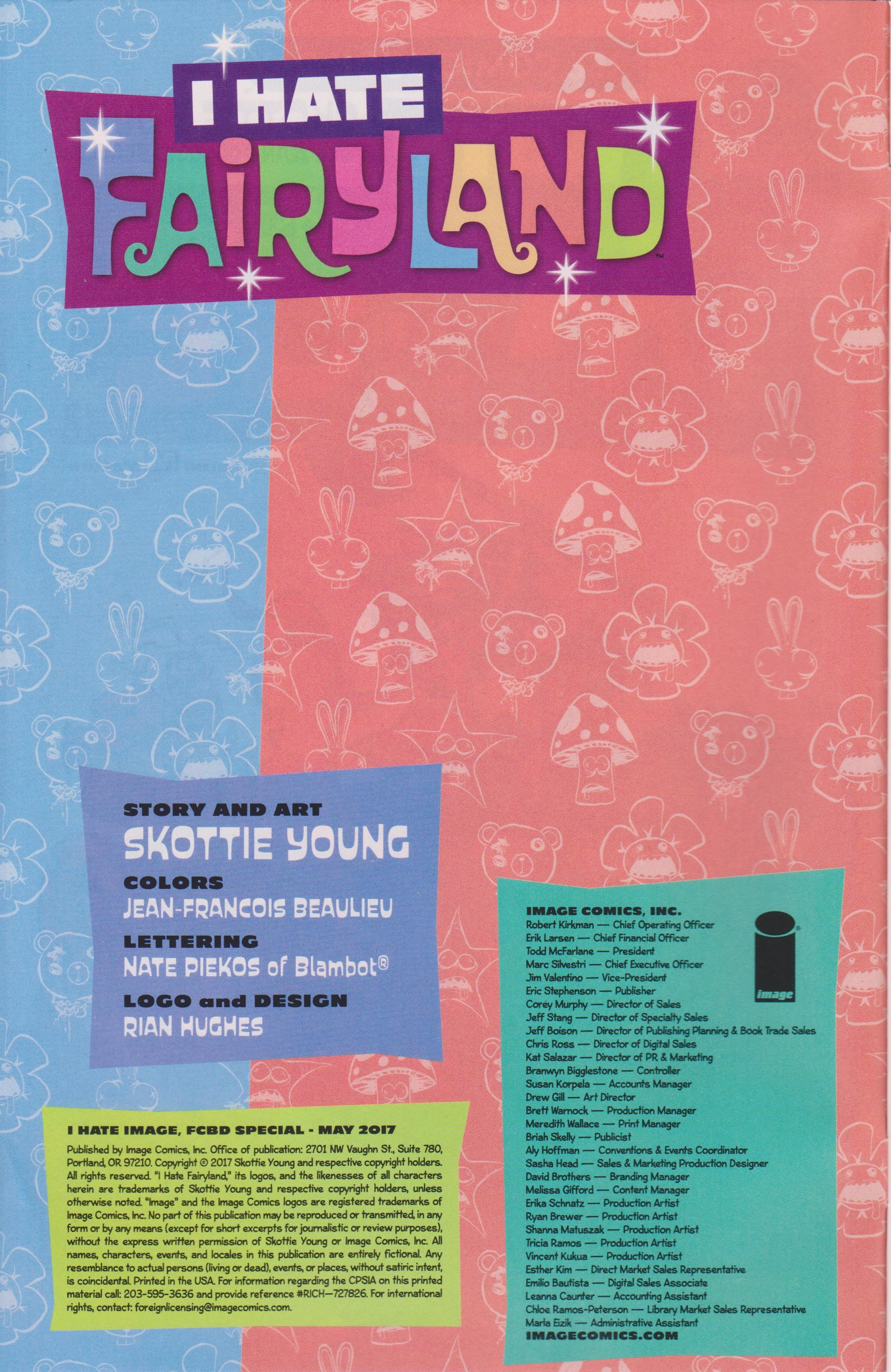 Read online Free Comic Book Day 2017 comic -  Issue # I Hate Image - 2