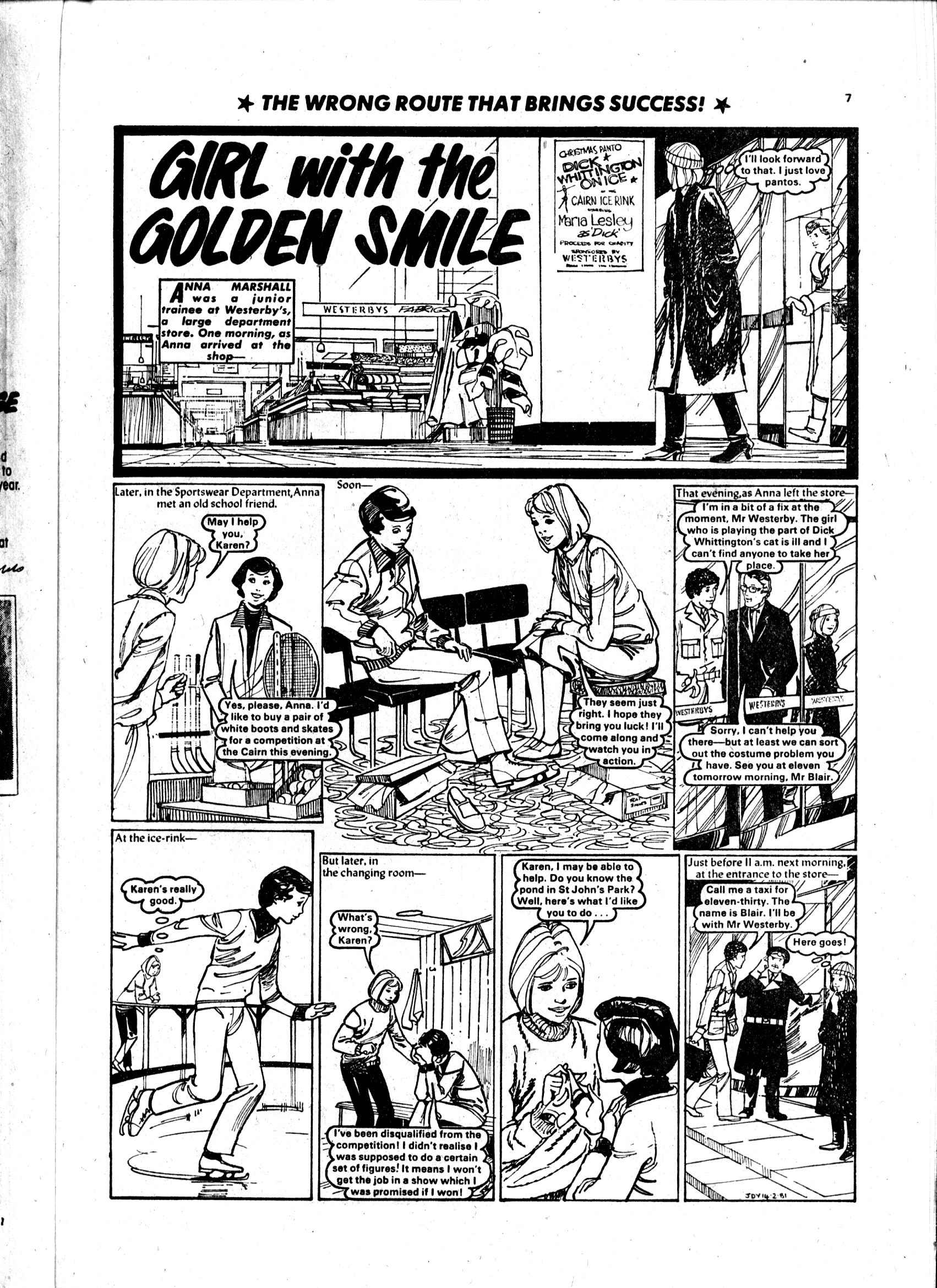 Read online Judy comic -  Issue #1101 - 7