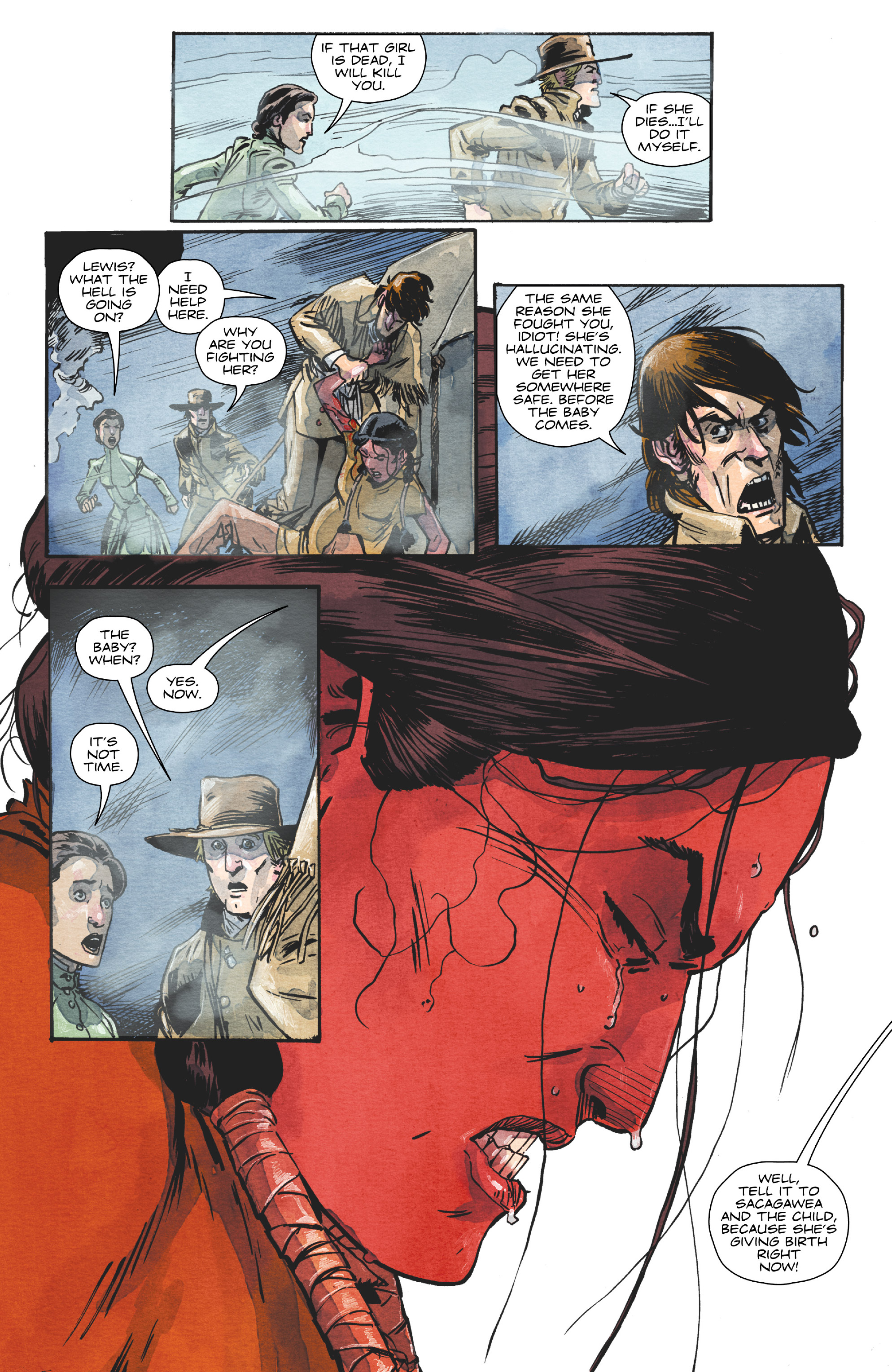 Read online Manifest Destiny comic -  Issue #29 - 22