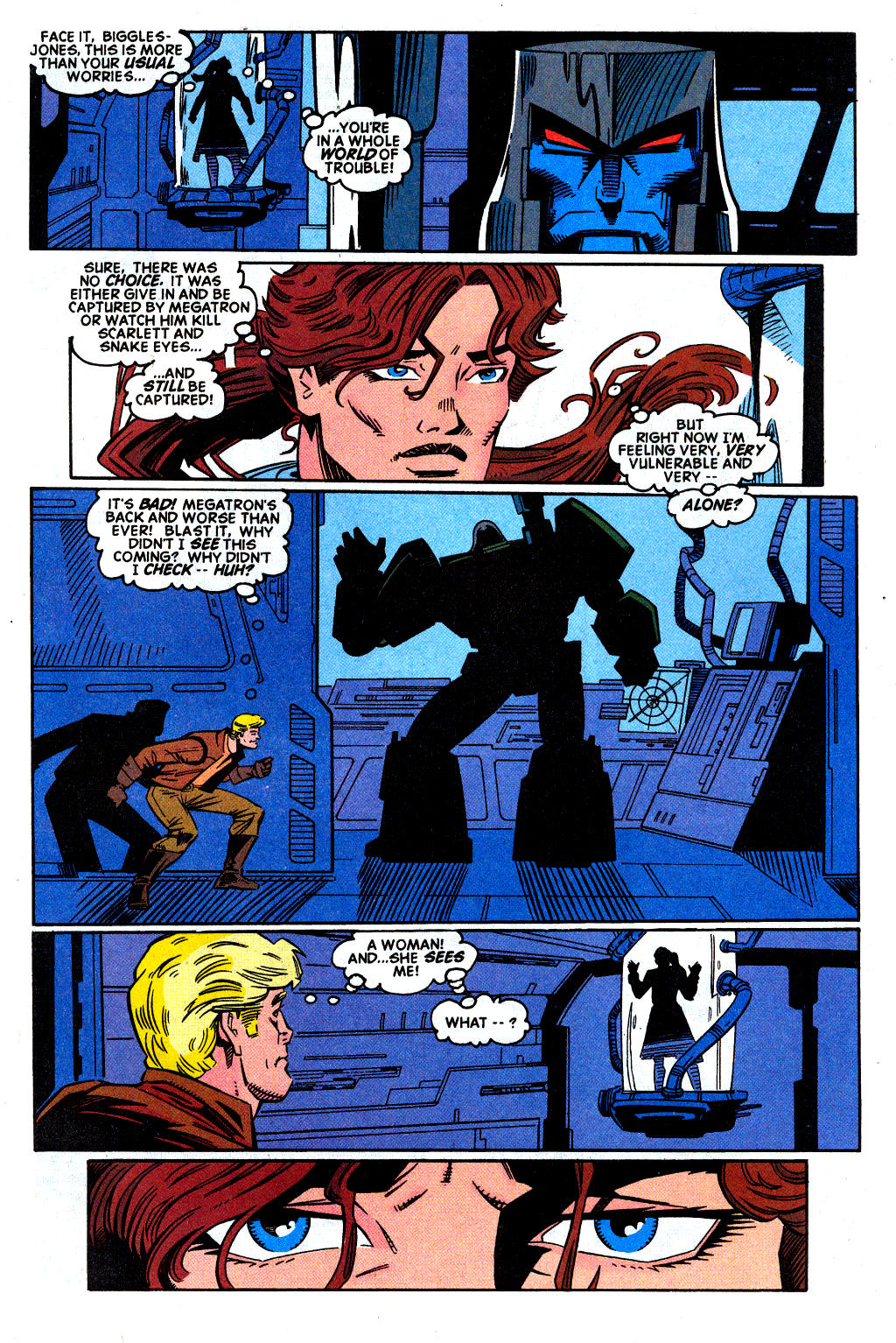 Read online Transformers: Generation 2 comic -  Issue #2 - 4