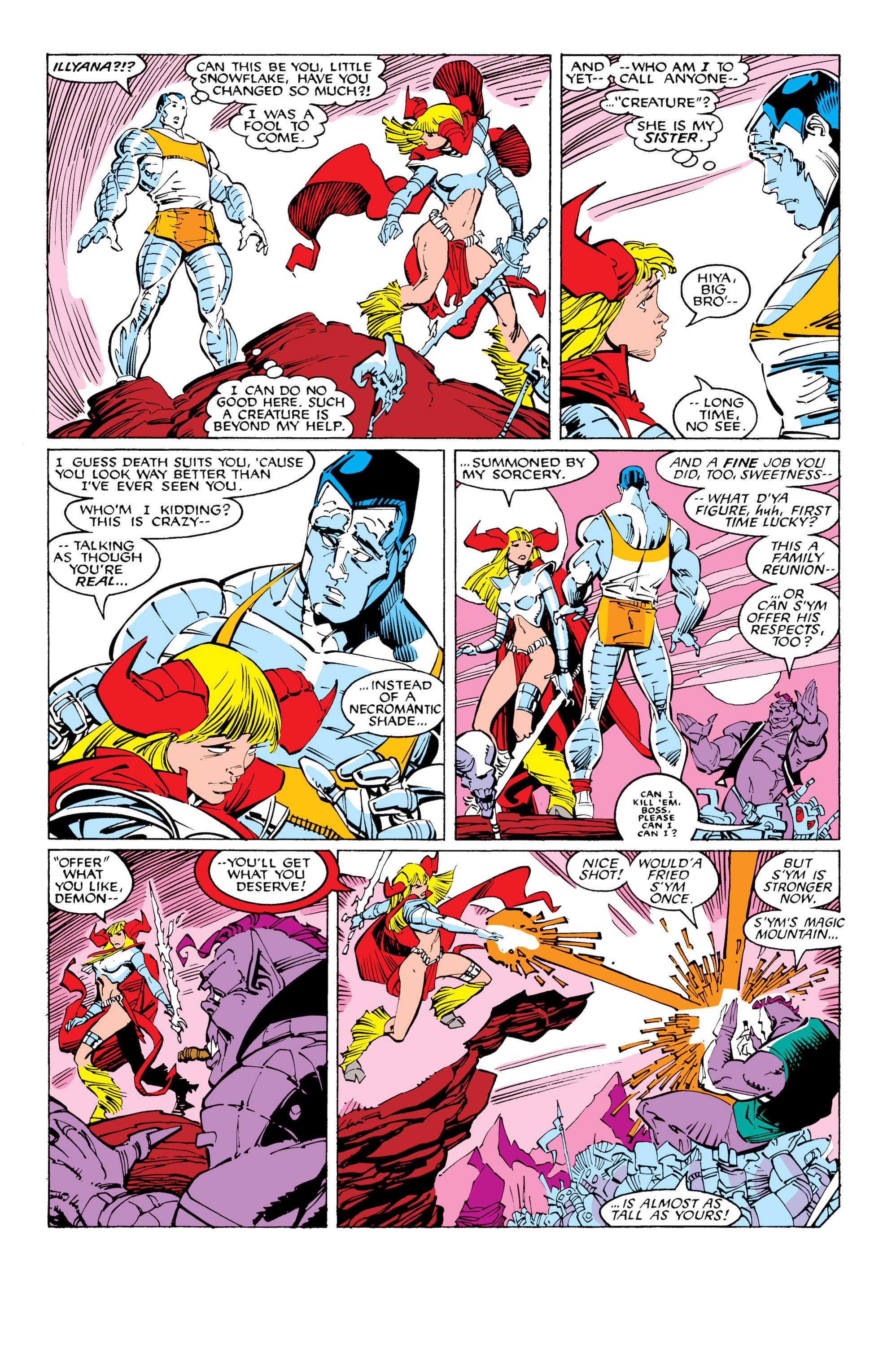 Read online Uncanny X-Men (1963) comic -  Issue #231 - 11
