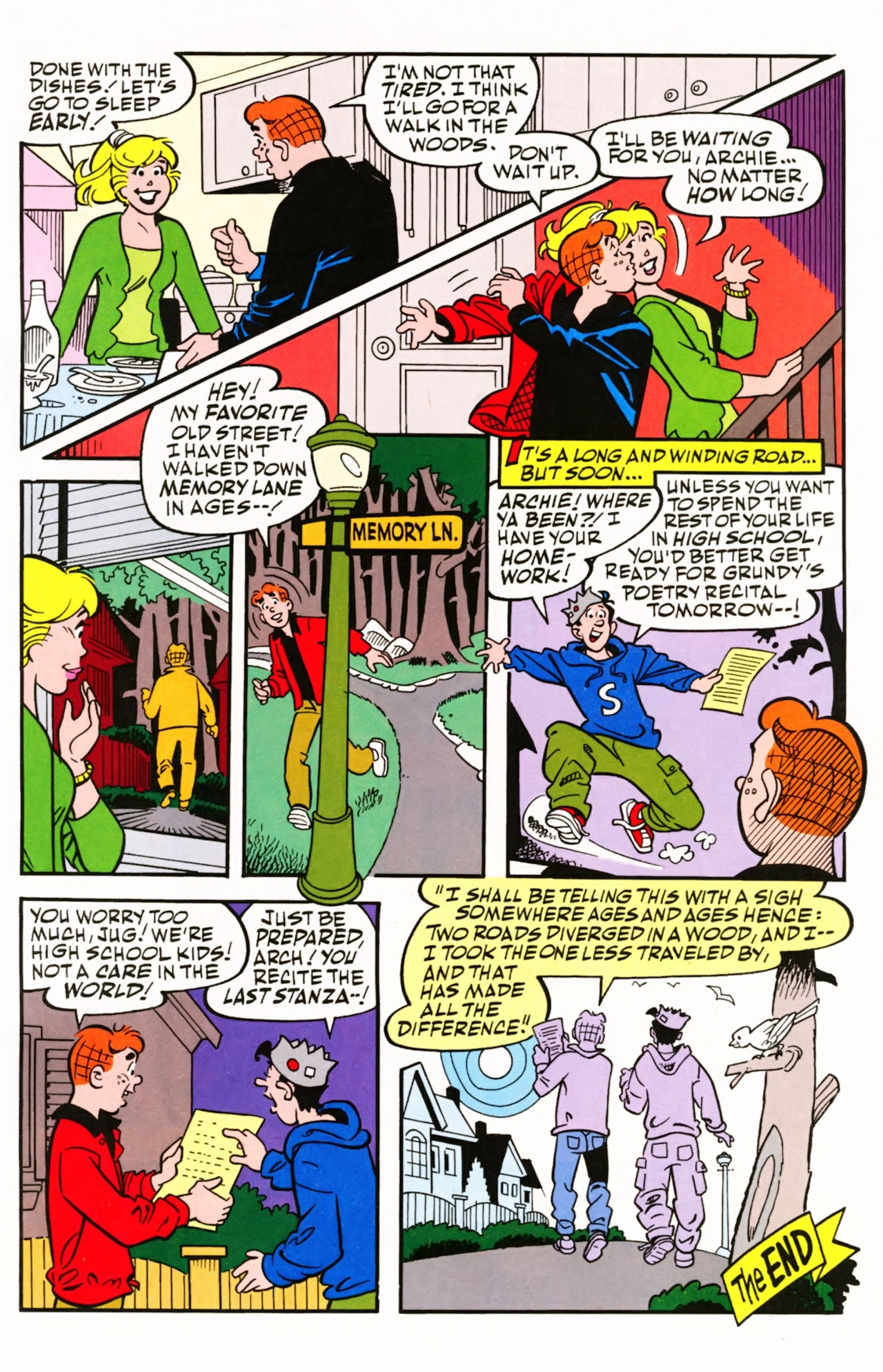 Read online Archie (1960) comic -  Issue #605 - 33