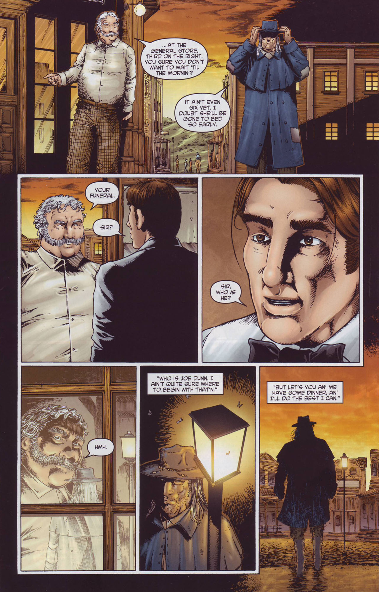Read online Garth Ennis' Streets of Glory comic -  Issue #2 - 13