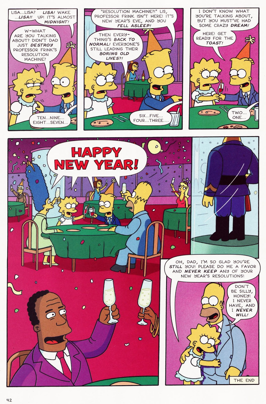 Read online The Simpsons Winter Wingding comic -  Issue #2 - 43