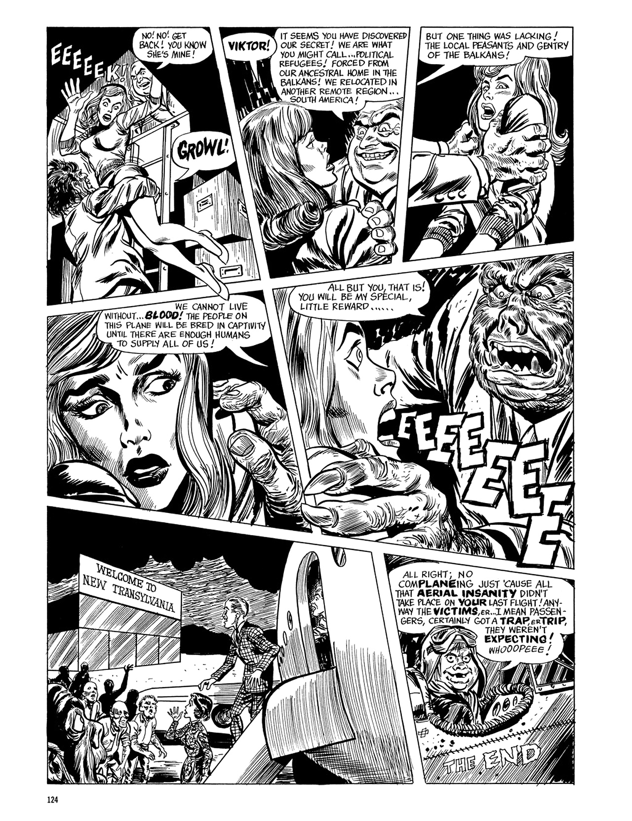 Read online Eerie Archives comic -  Issue # TPB 5 - 125