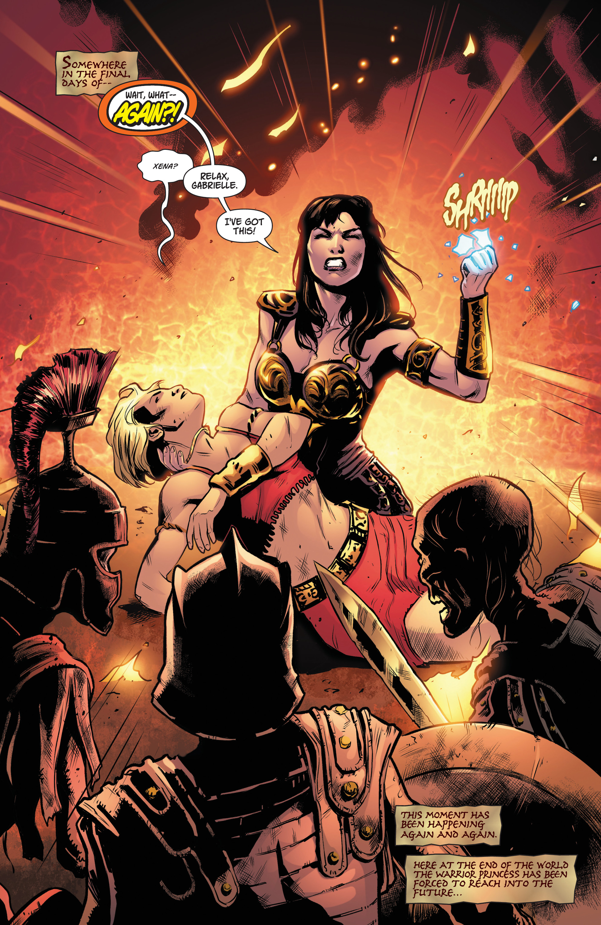 Read online Army Of Darkness/Xena: Forever…And A Day comic -  Issue #4 - 3