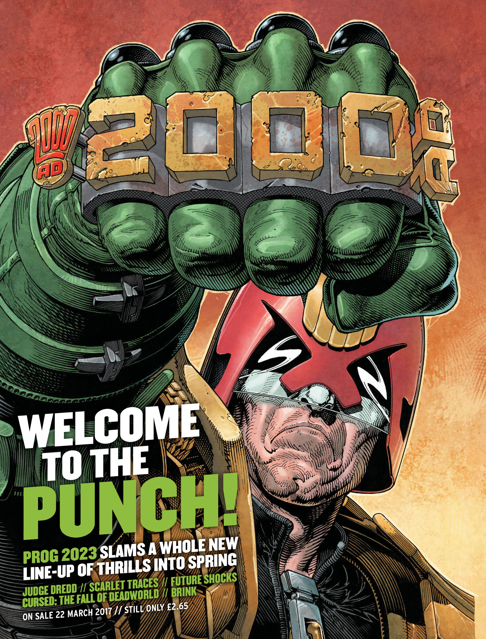 Read online 2000 AD comic -  Issue #2022 - 31
