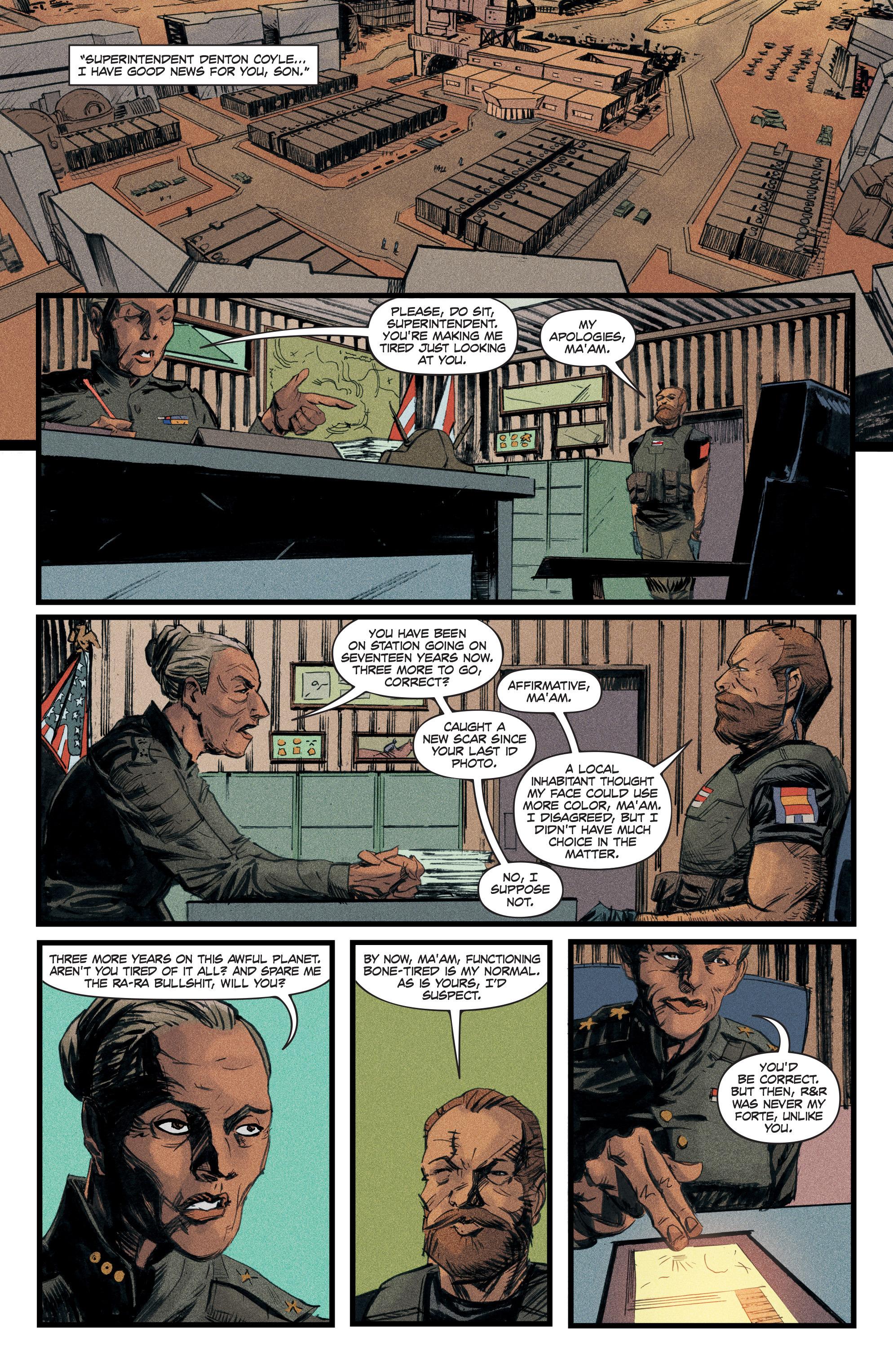 Read online Redline comic -  Issue #3 - 12