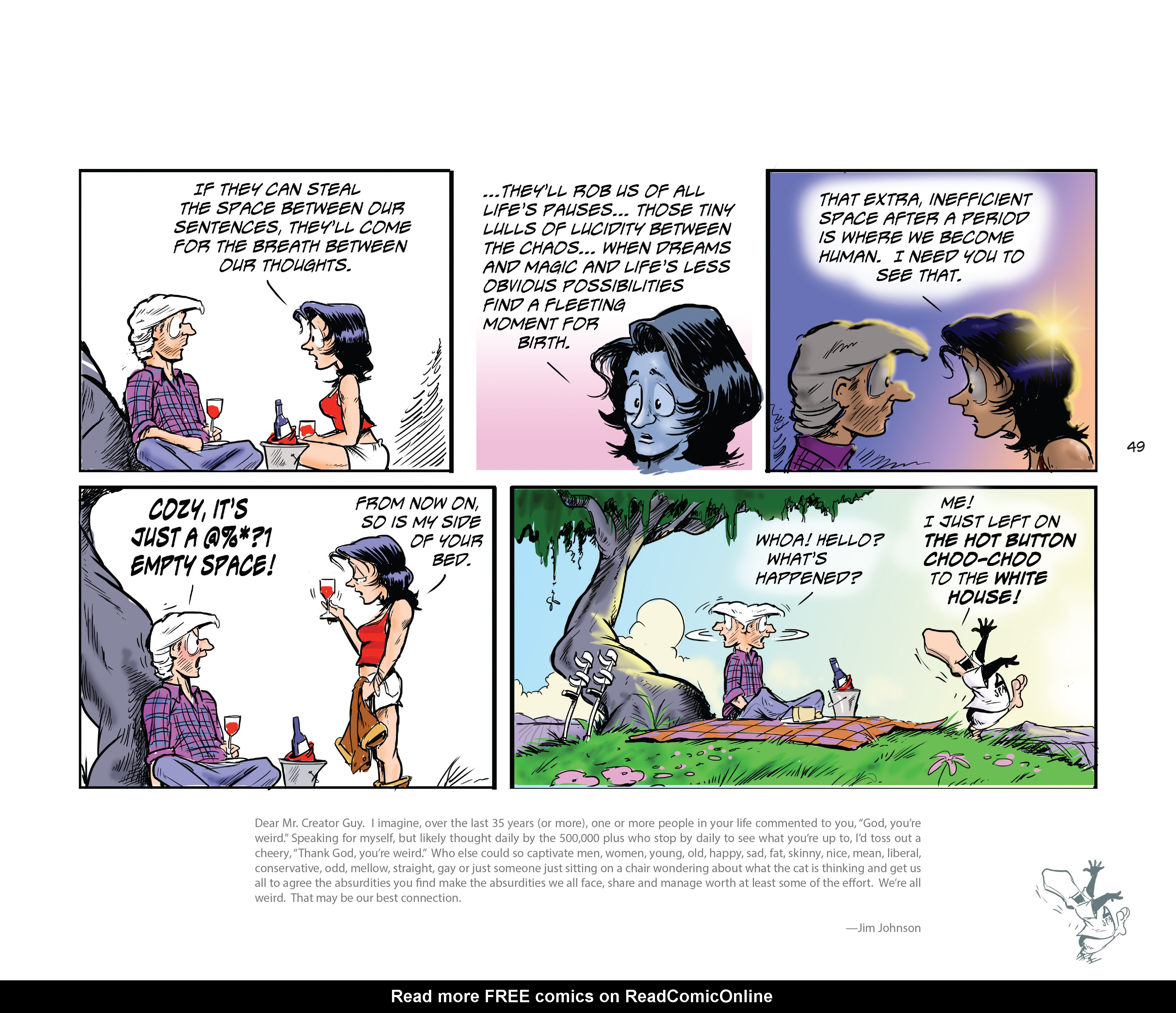 Read online Bloom County Episode XI: A New Hope comic -  Issue # Full - 51