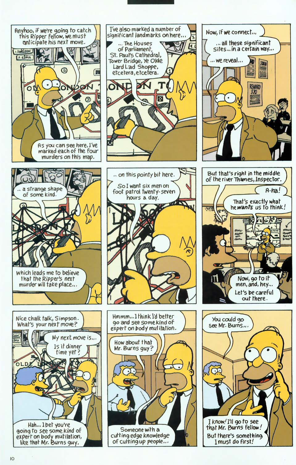 Read online Treehouse of Horror comic -  Issue #9 - 42