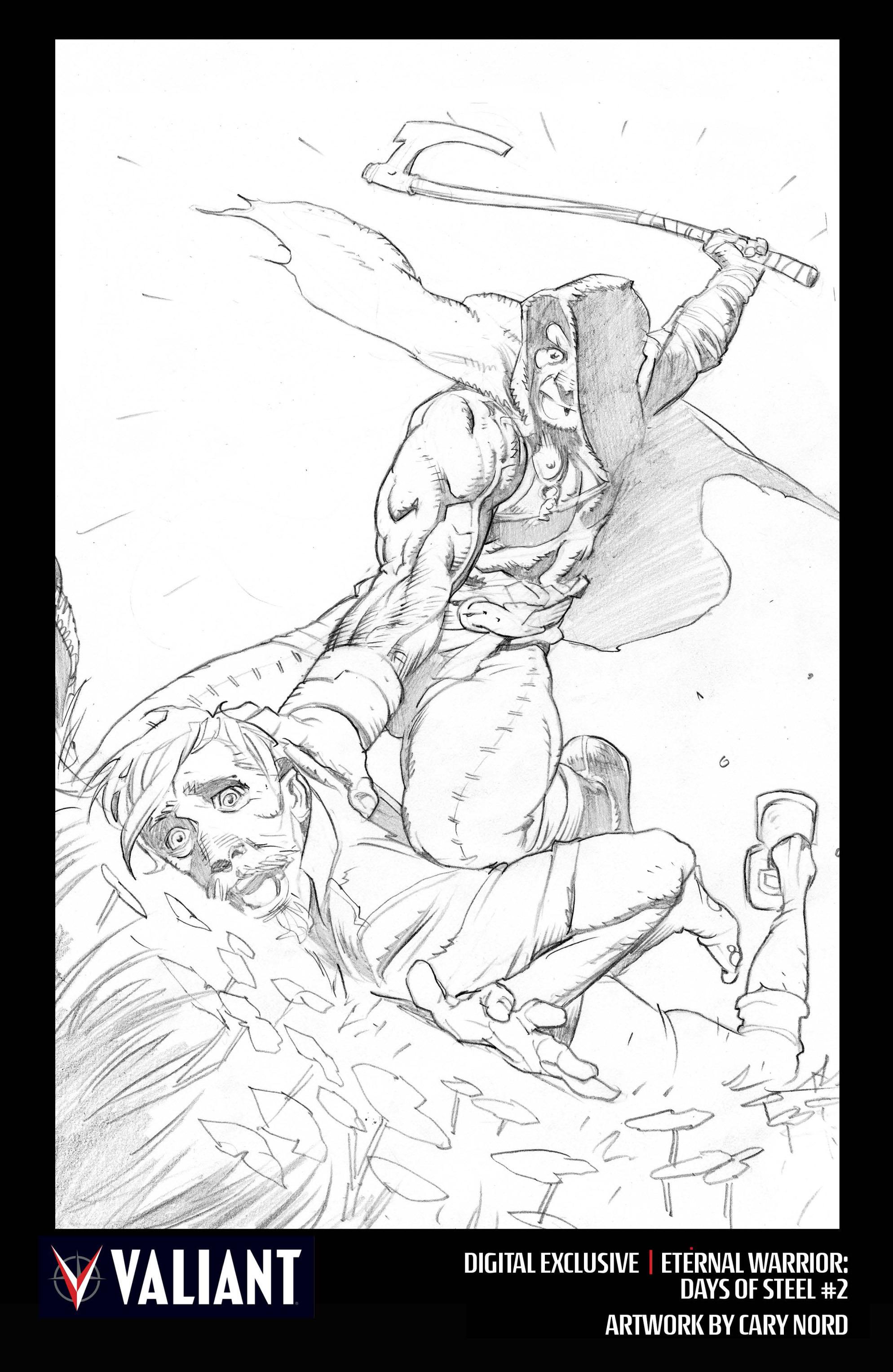 Read online Eternal Warrior: Days of Steel comic -  Issue #2 - 34