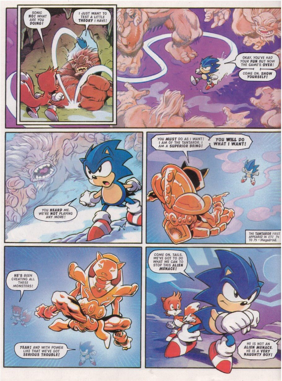 Read online Sonic the Comic comic -  Issue #113 - 8