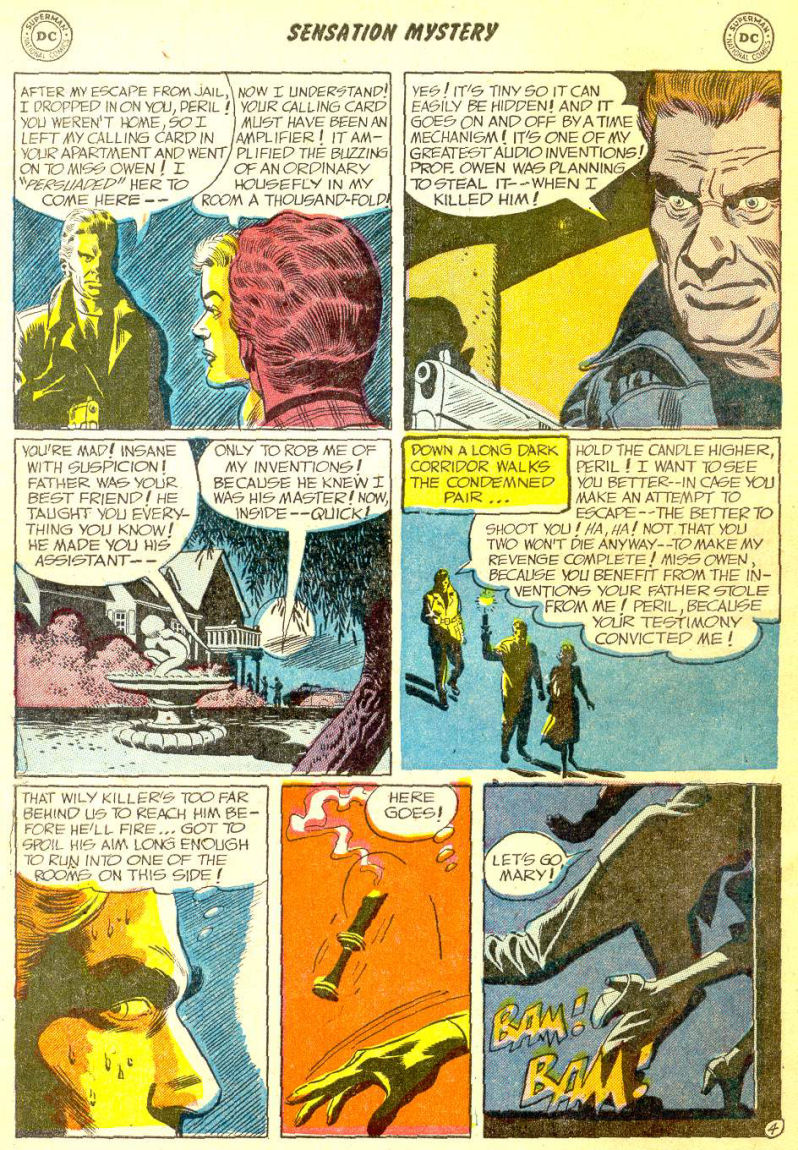 Read online Sensation (Mystery) Comics comic -  Issue #111 - 30