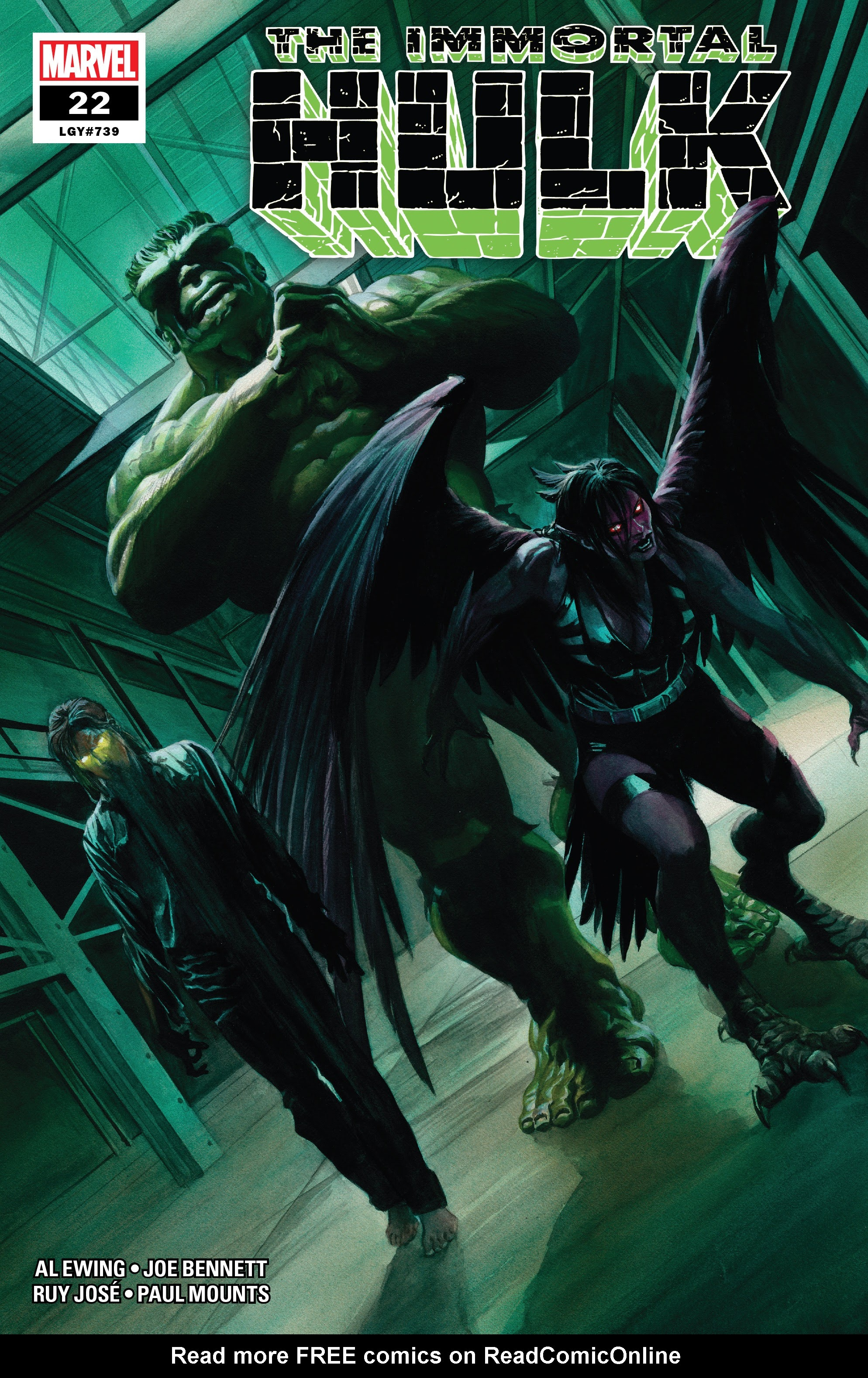 Immortal Hulk (2018) issue 22 - Page 1