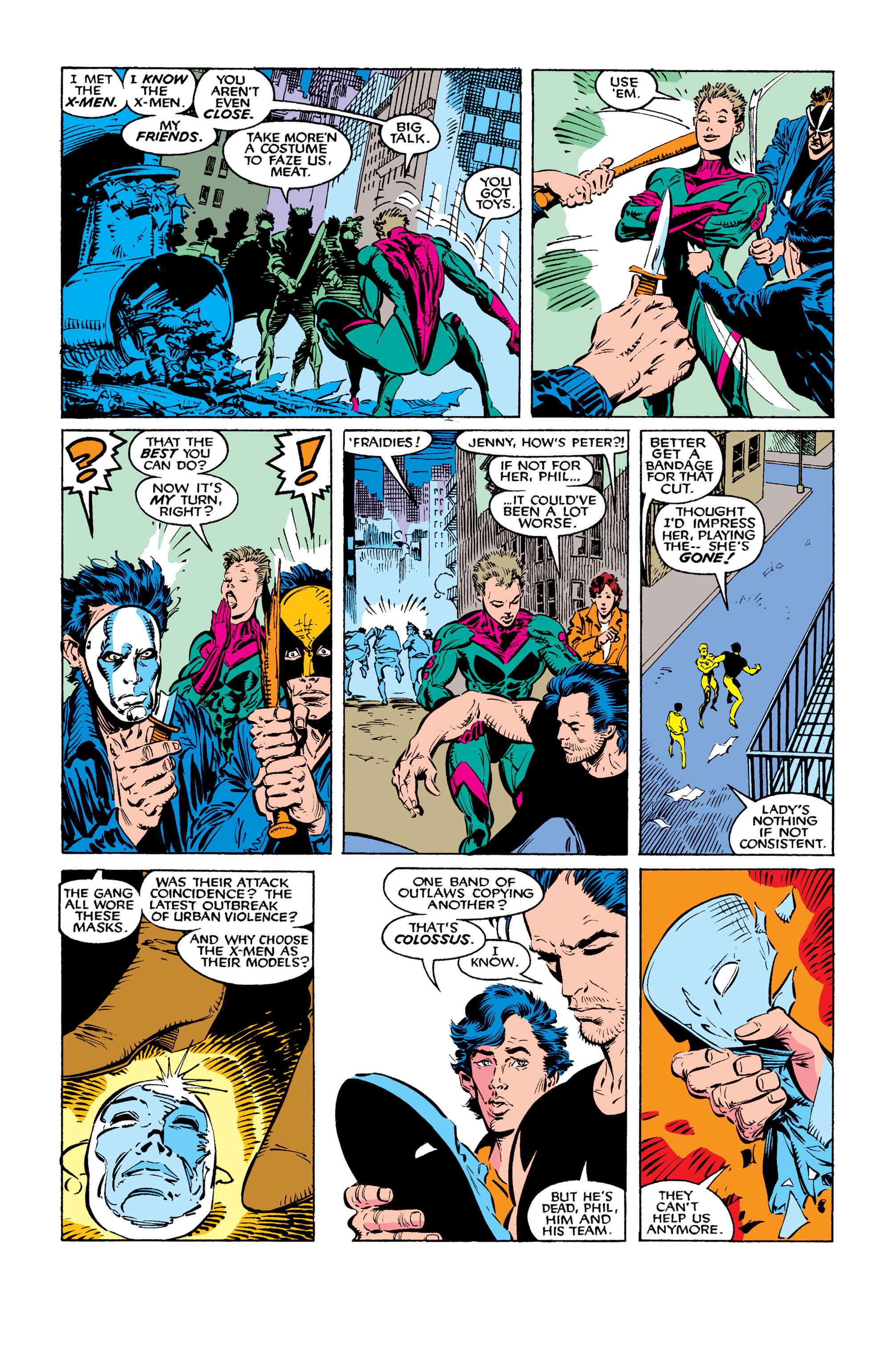 Read online Uncanny X-Men (1963) comic -  Issue #260 - 12