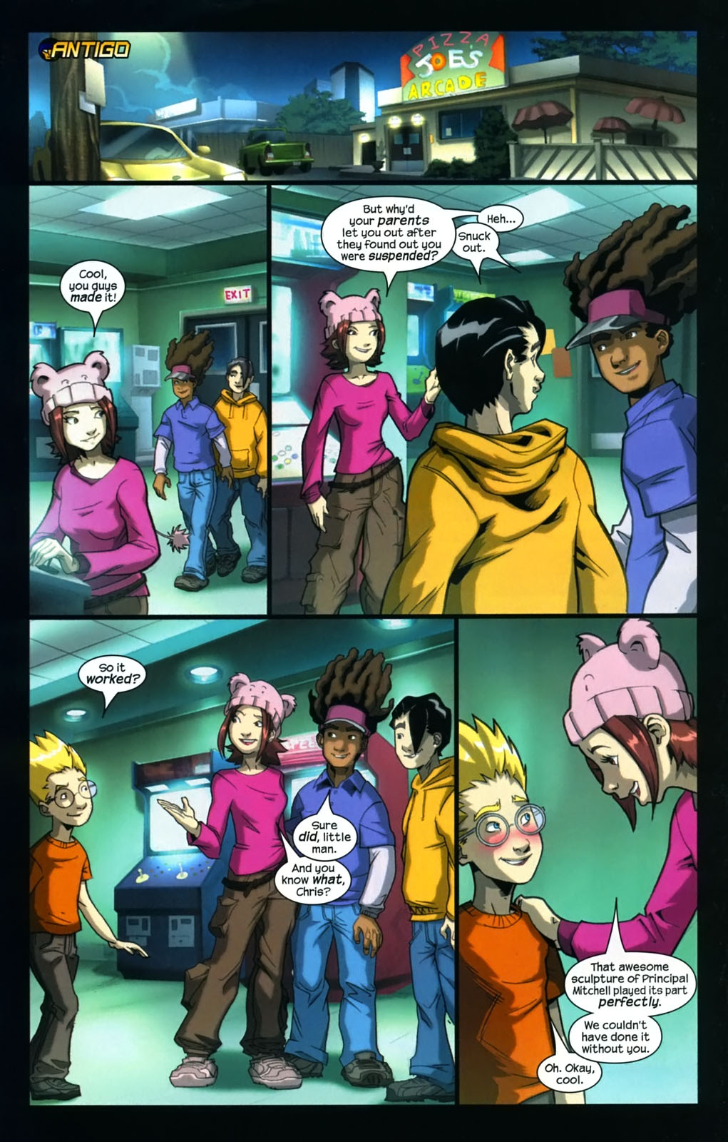 Read online Sentinel (2006) comic -  Issue #4 - 15