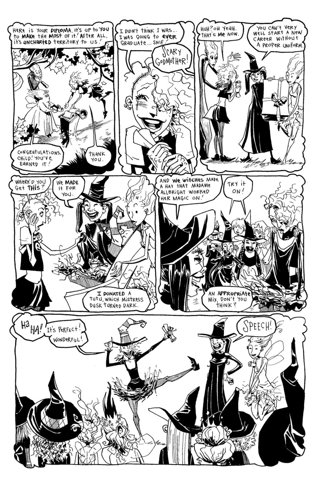 Read online Scary Godmother Comic Book Stories comic -  Issue # TPB - 201