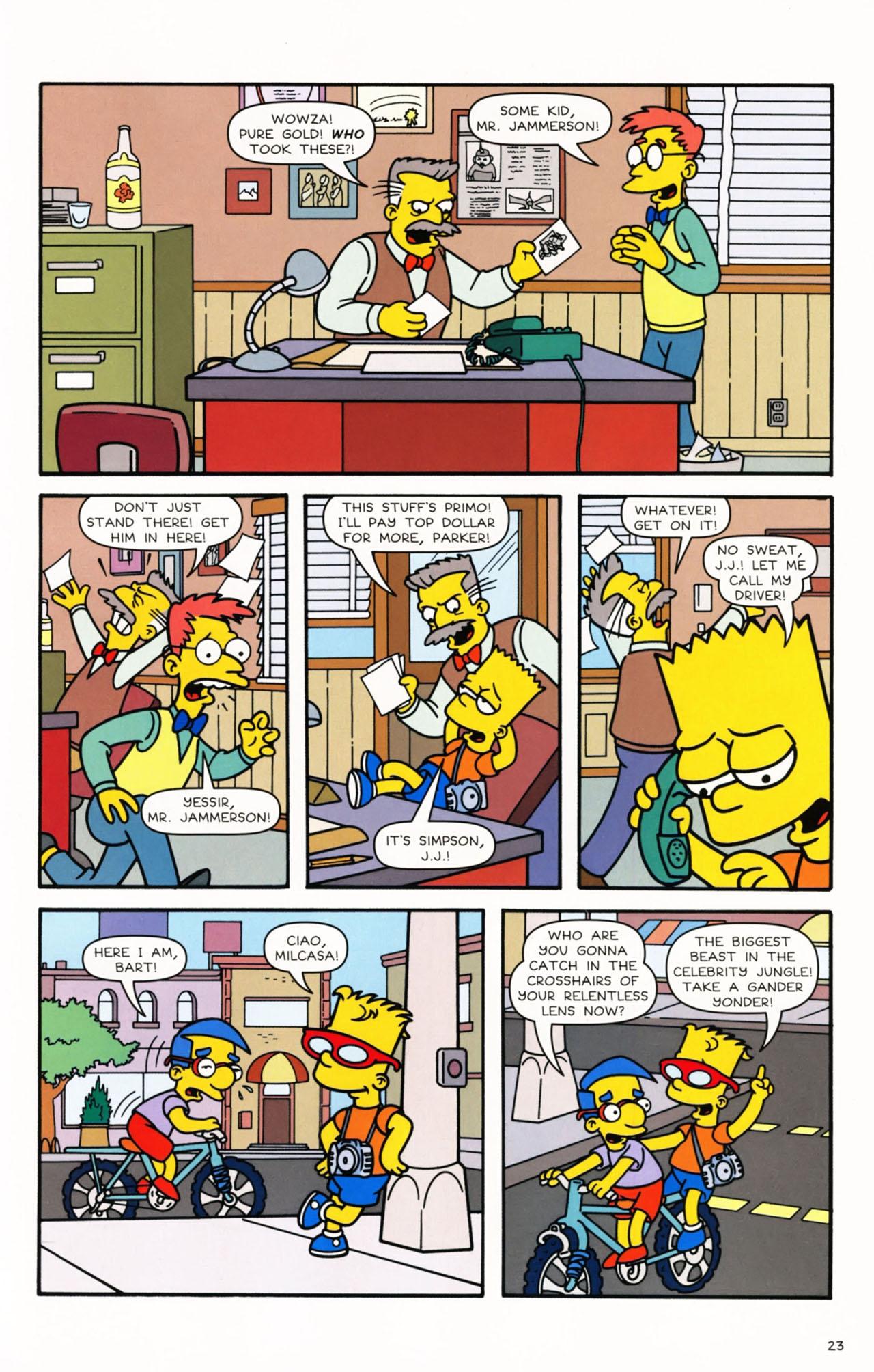 Read online Simpsons Comics Presents Bart Simpson comic -  Issue #53 - 25