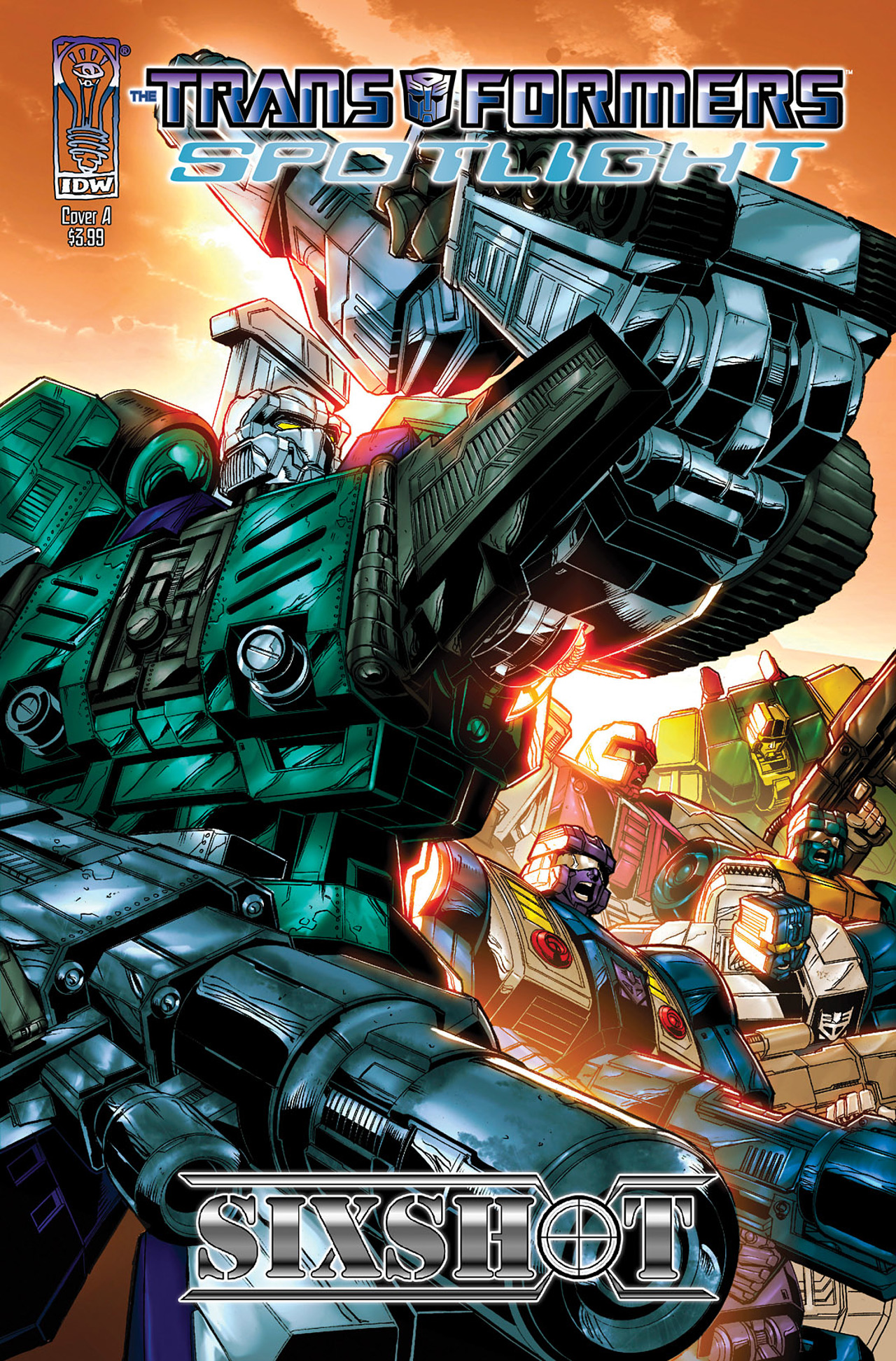 Read online Transformers Spotlight: Sixshot comic -  Issue # Full - 1