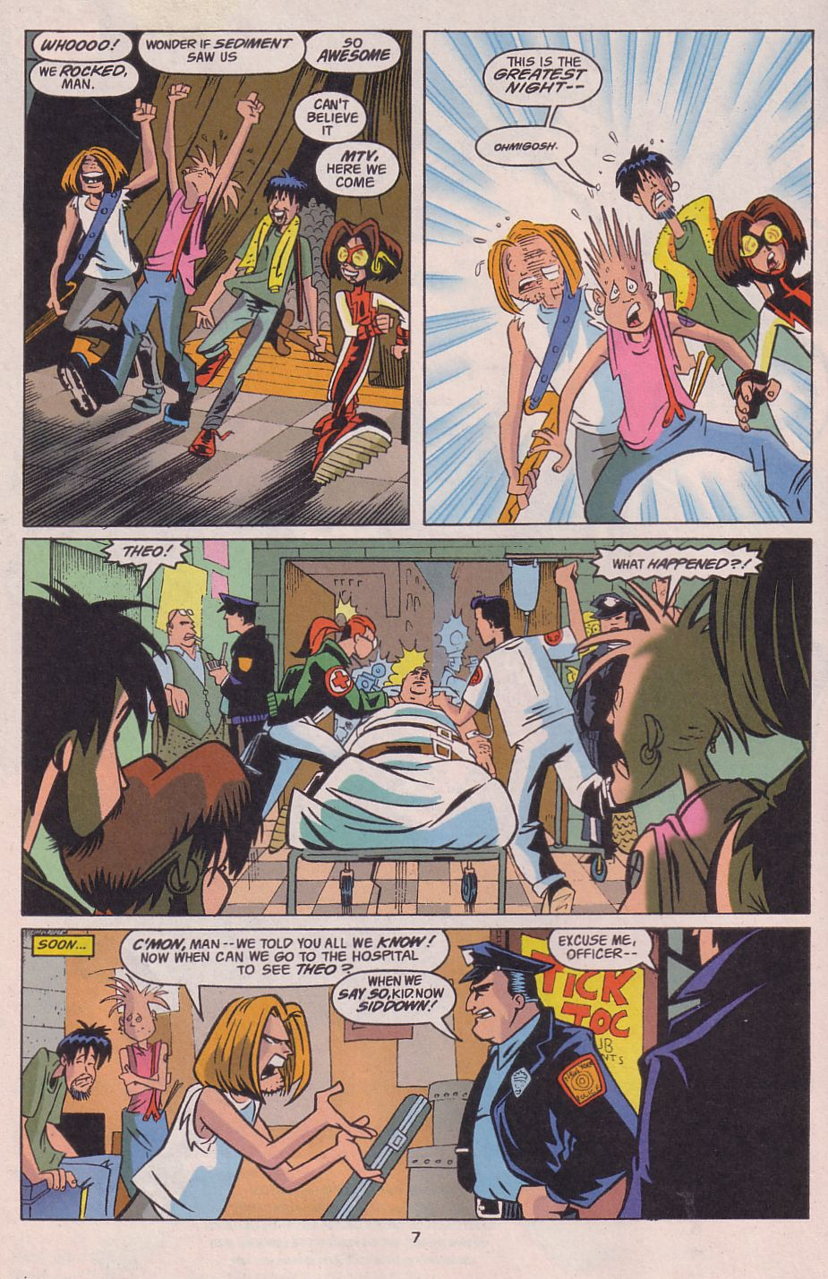 Read online Adventures in the DC Universe comic -  Issue #13 - 8