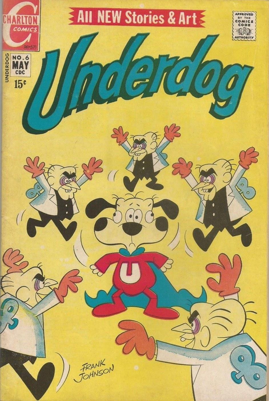 Underdog (1970) issue 6 - Page 1