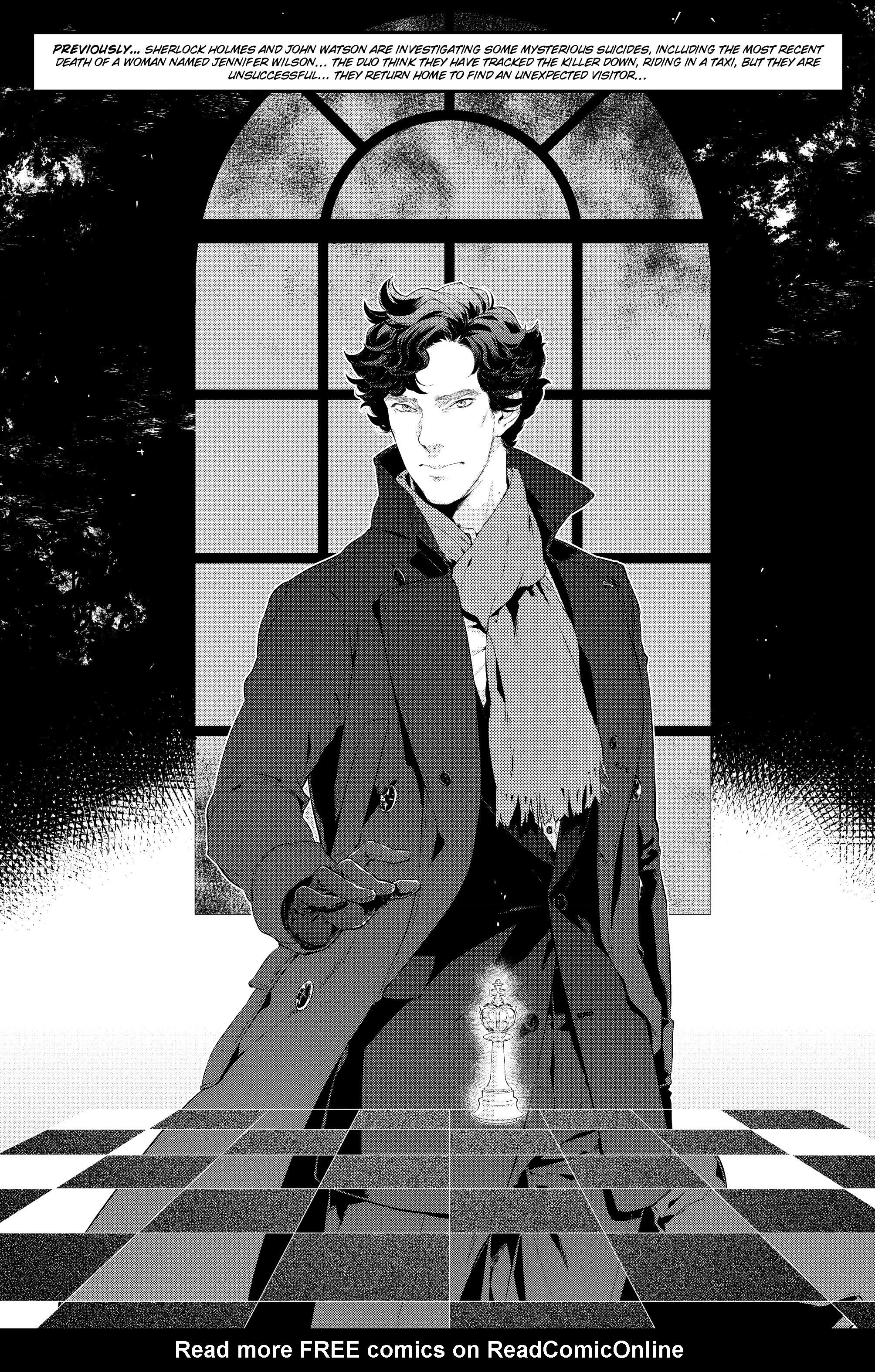 Read online Sherlock: A Study In Pink comic -  Issue #5 - 5
