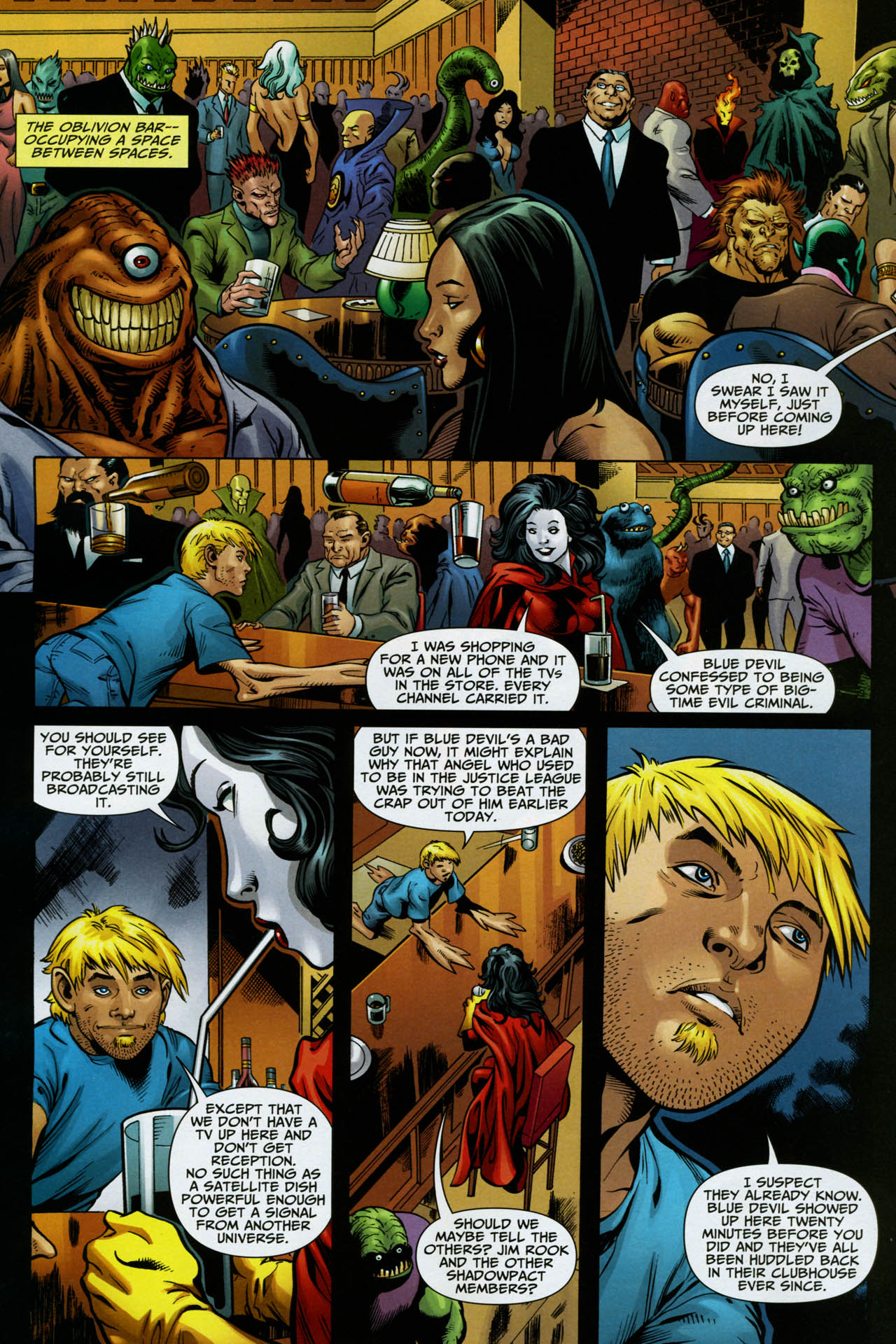 Read online Shadowpact comic -  Issue #14 - 19