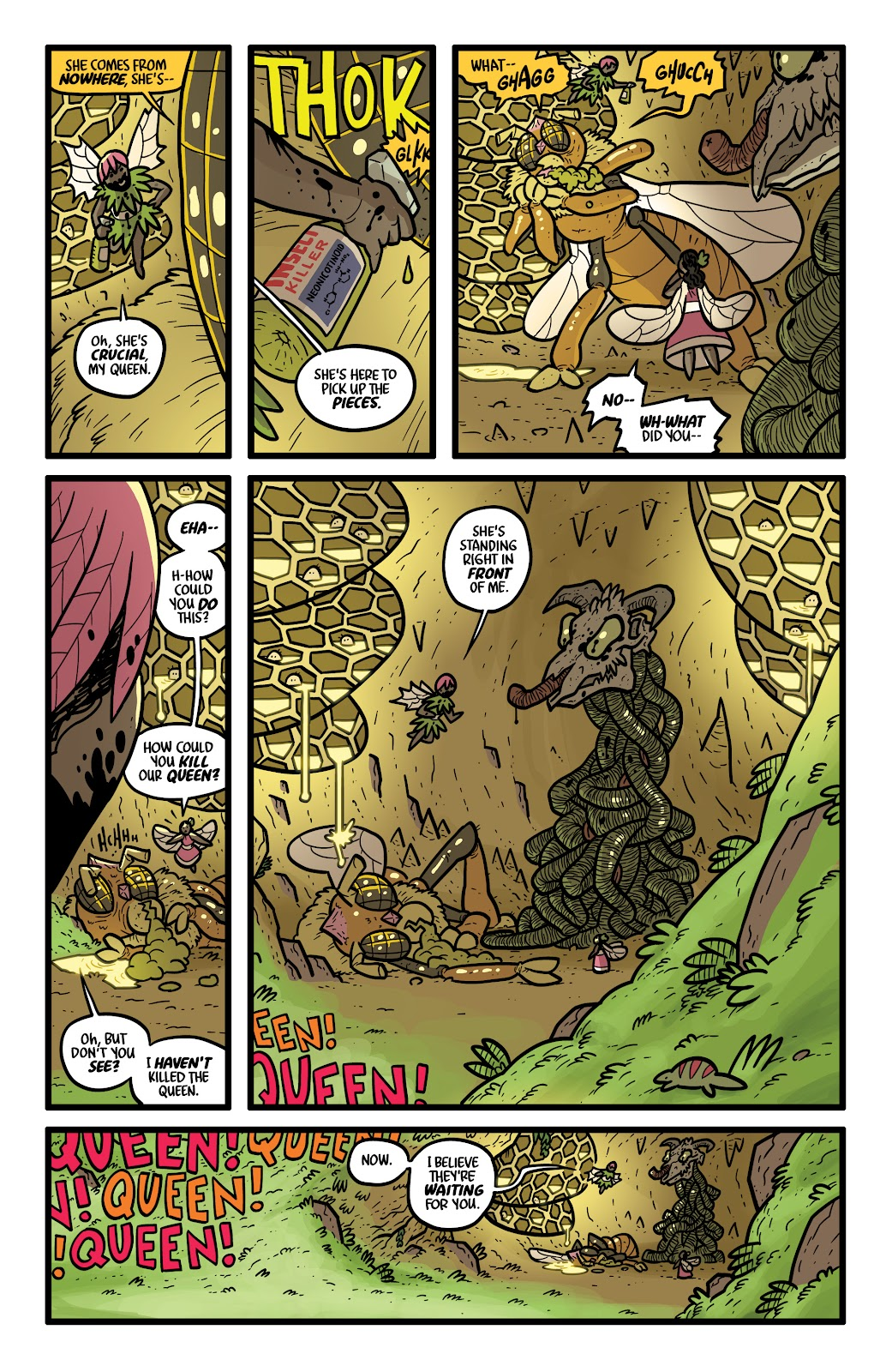 Read online Kaijumax: Season Four comic -  Issue #4 - 16