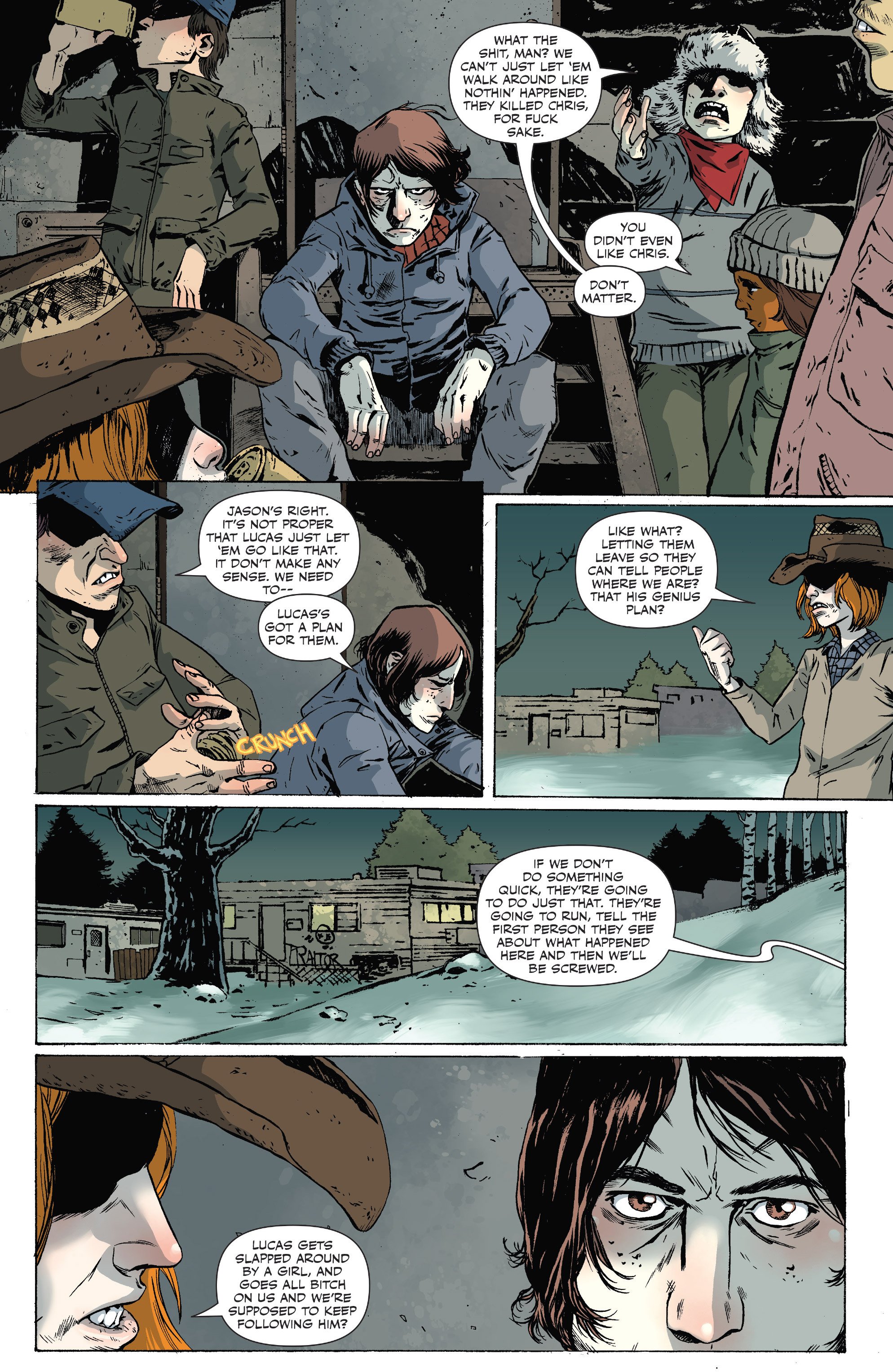 Read online Sheltered comic -  Issue #10 - 14