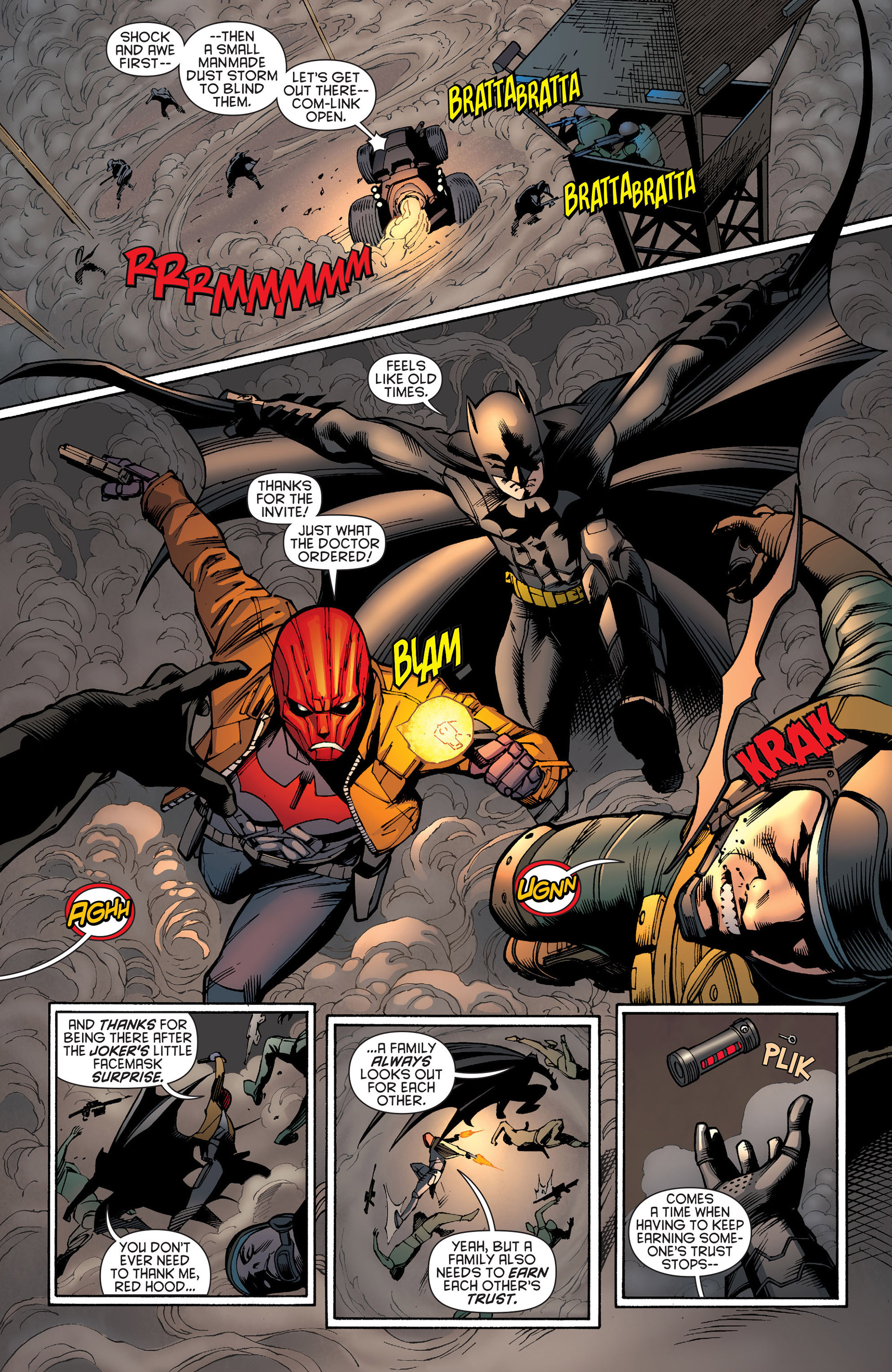 Read online Batman and Robin (2011) comic -  Issue #20 - 13