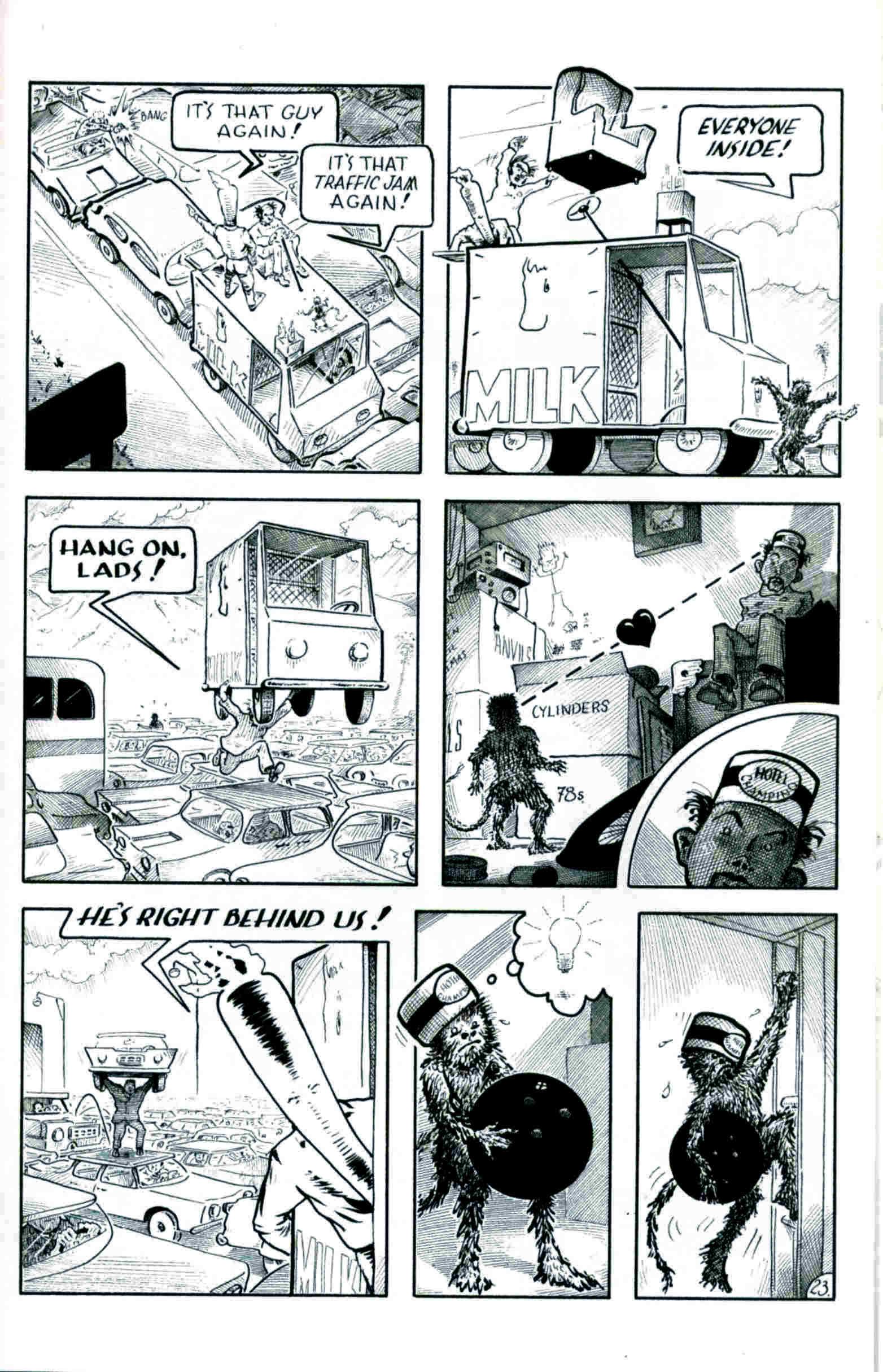 Read online Flaming Carrot & Reid Fleming, World's Toughest Milkman comic -  Issue # Full - 23