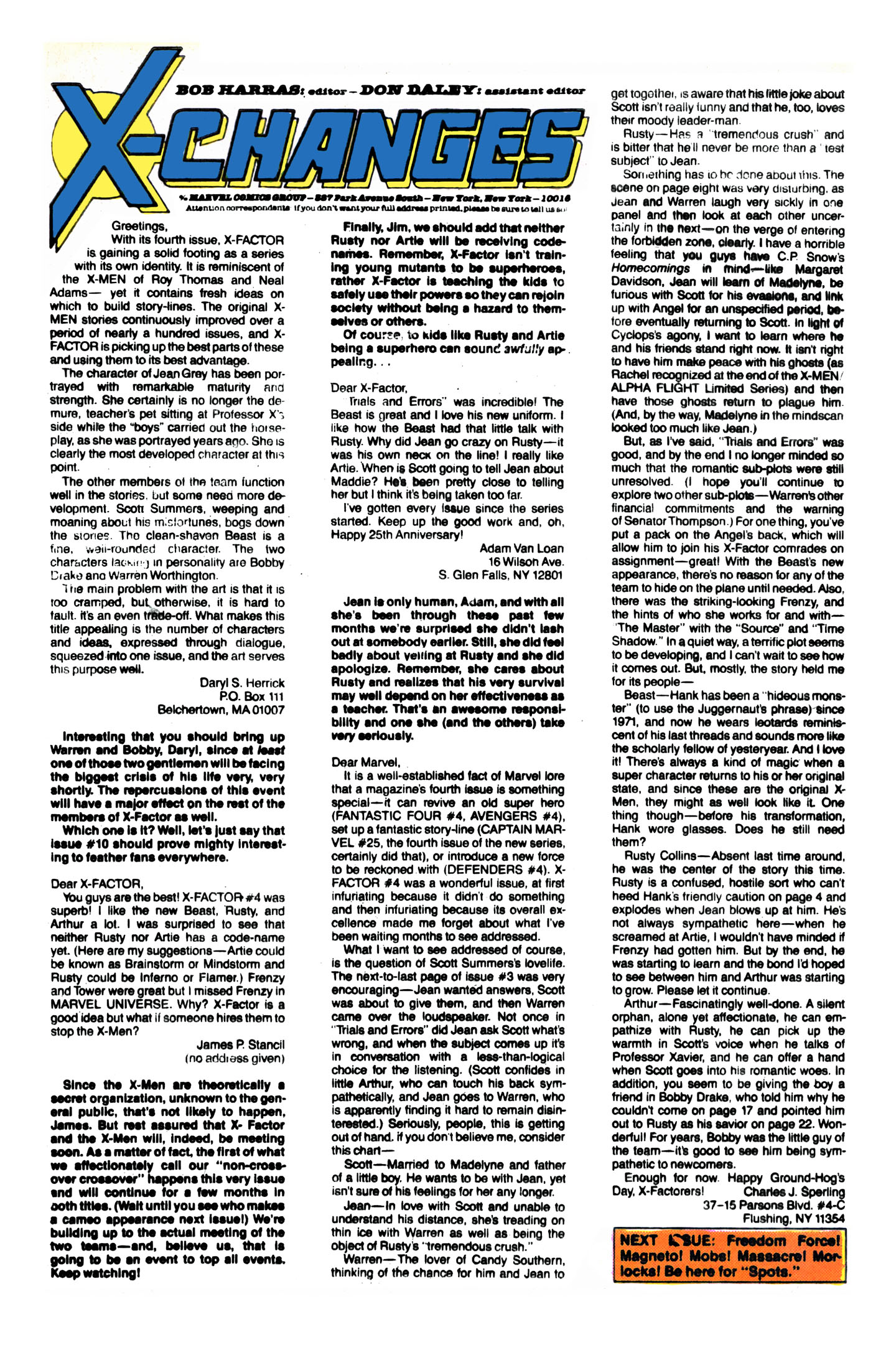 Read online X-Factor (1986) comic -  Issue #8 - 25