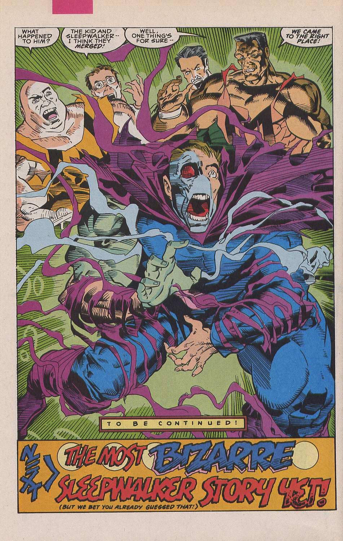 Read online Sleepwalker comic -  Issue #19 - 22