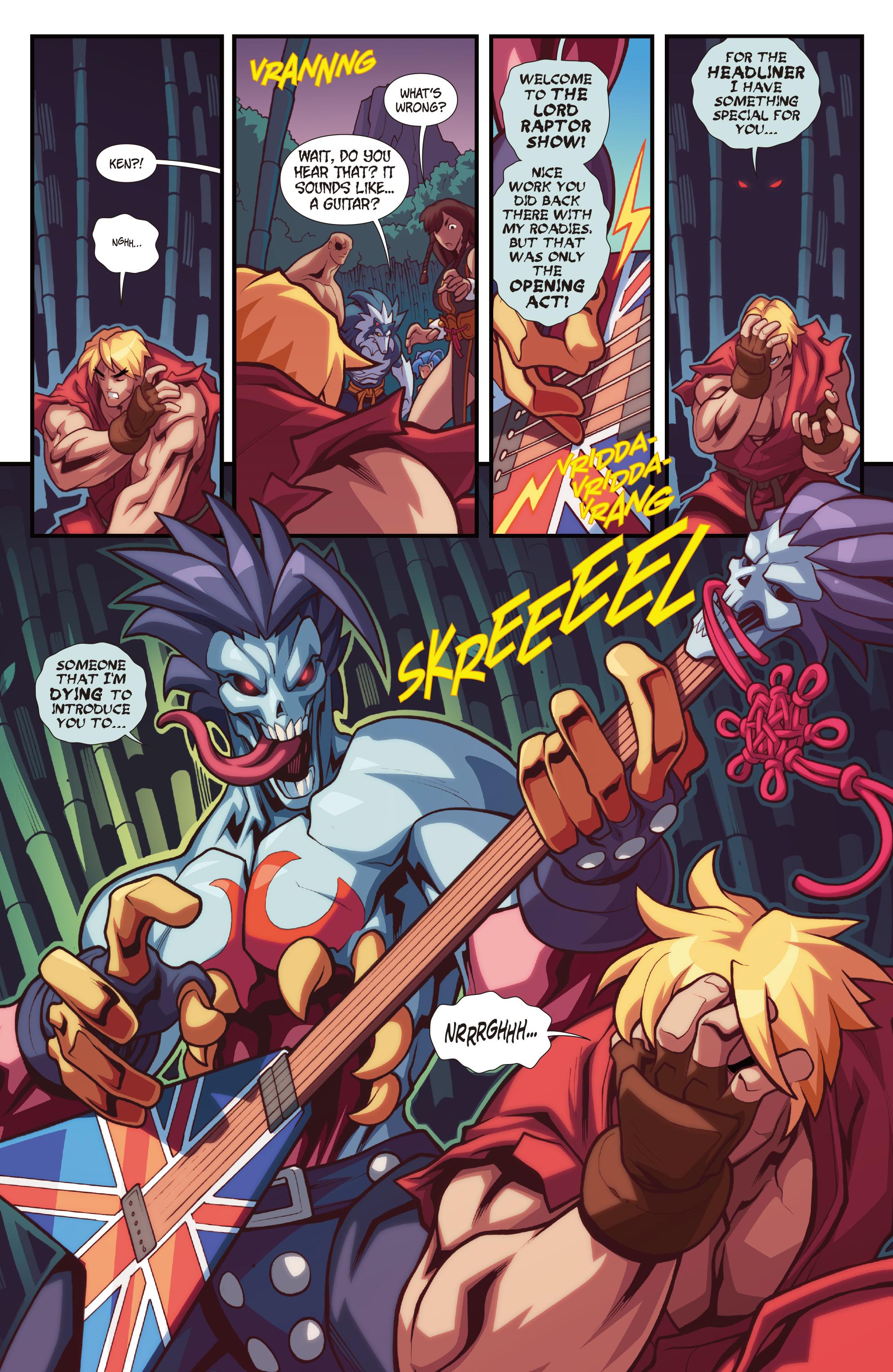 Read online Street Fighter VS Darkstalkers comic -  Issue #2 - 19
