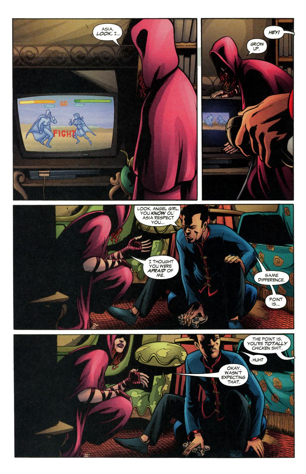 Read online Fallen Angel (2003) comic -  Issue #13 - 16