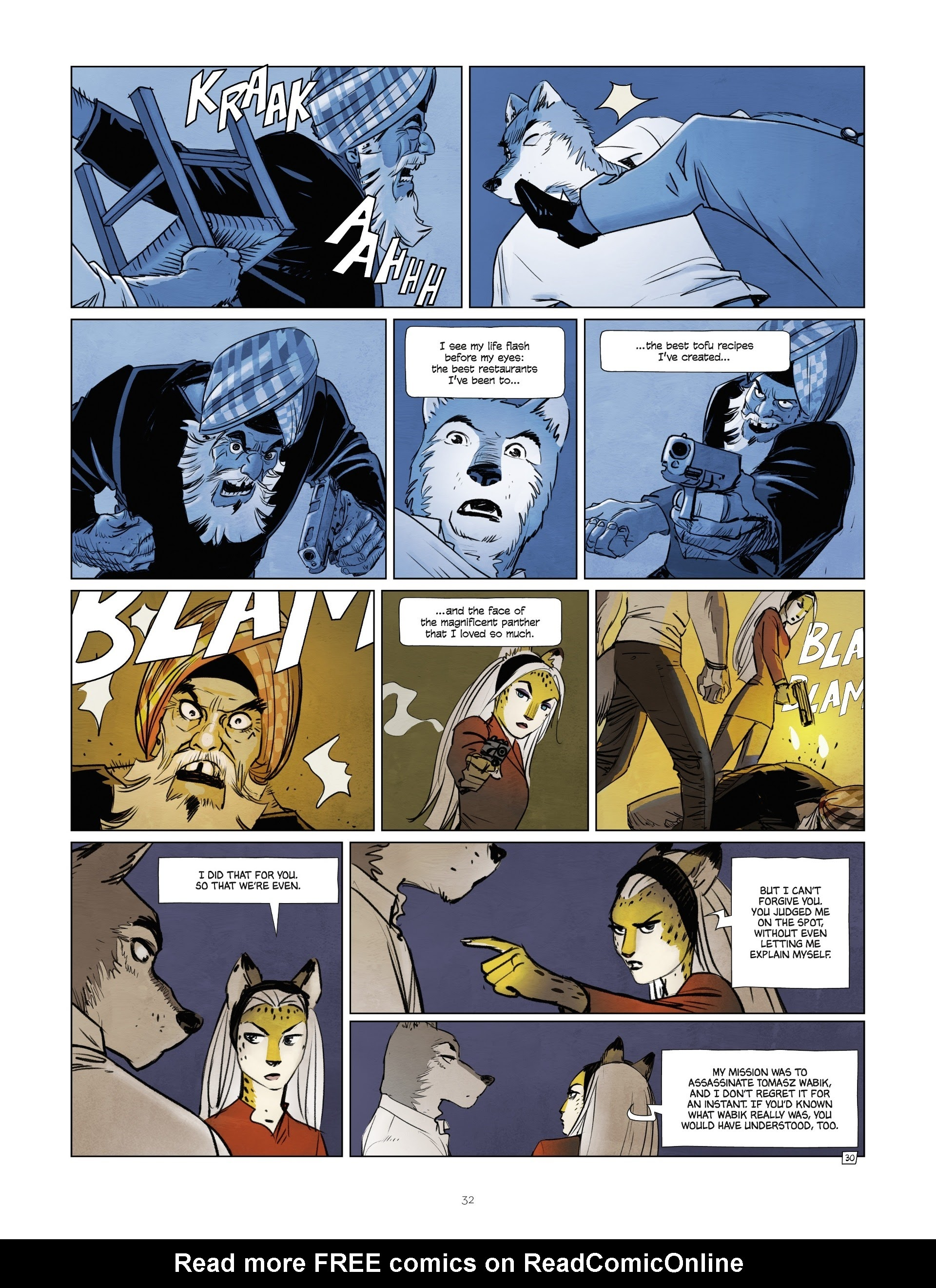 Read online Jack Wolfgang comic -  Issue #3 - 34