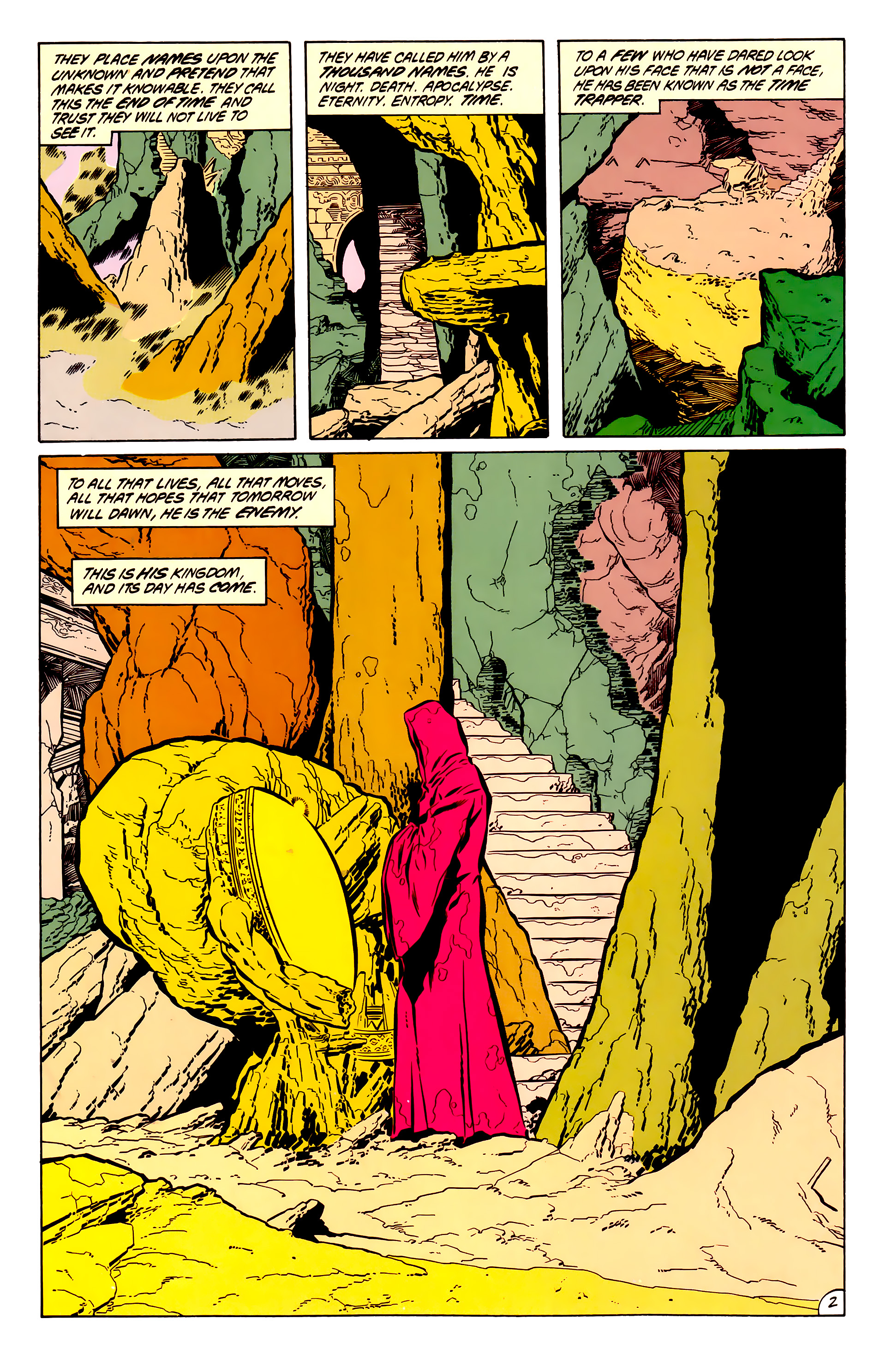 Legion of Super-Heroes (1984) 50 Page 2