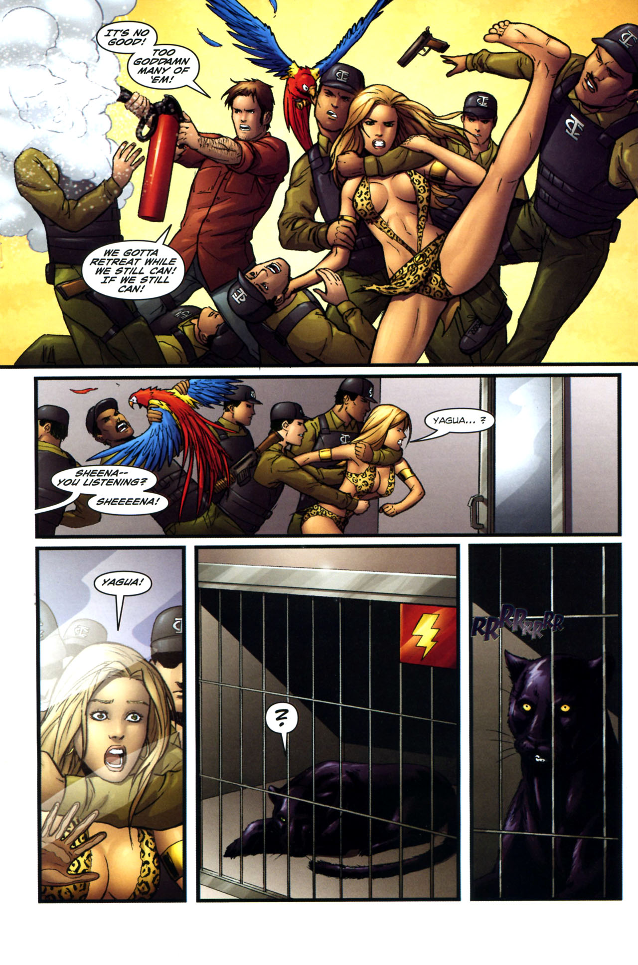 Read online Sheena, Queen of the Jungle comic -  Issue #3 - 15