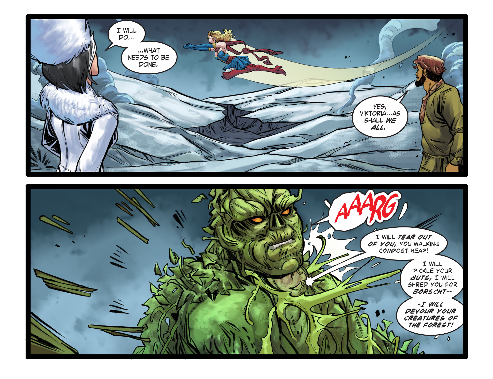 Read online DC Comics: Bombshells comic -  Issue #99 - 15
